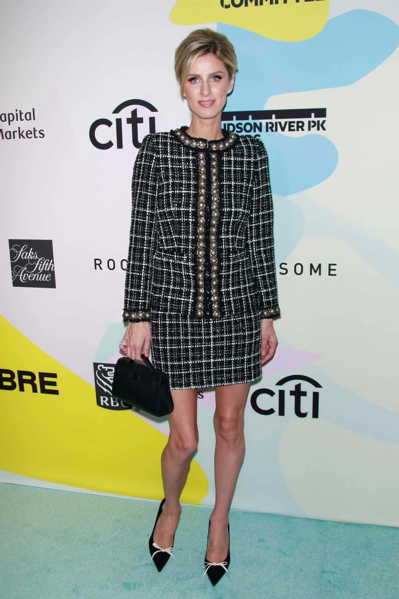 Nicky Hilton Attends the Hudson River Park Friends Playground Committee Luncheon in New York 01/24/2020