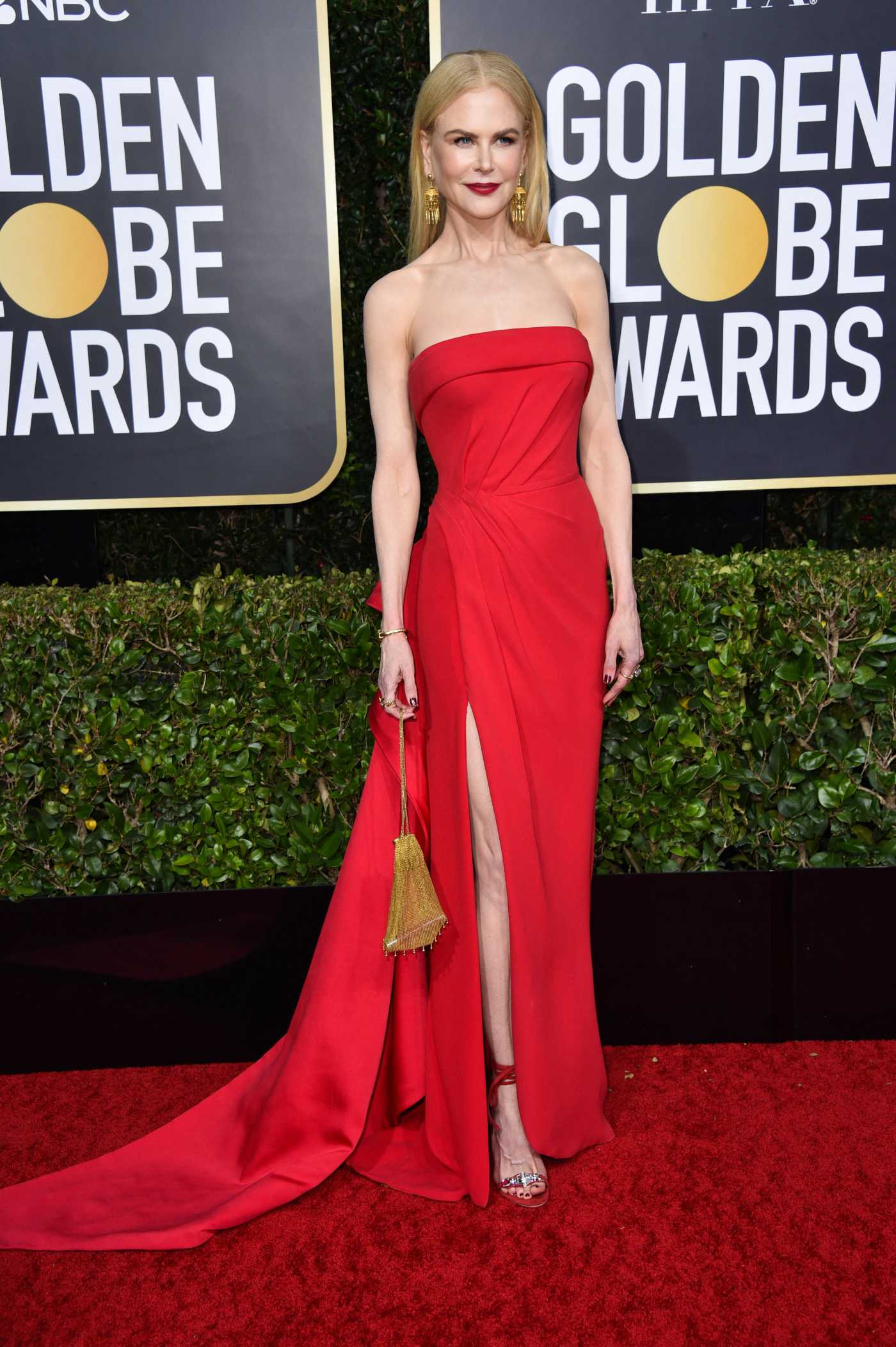 Nicole Kidman Attends the 77th Annual Golden Globe Awards at the Beverly Hilton Hotel in Beverly Hills 01/05/2020