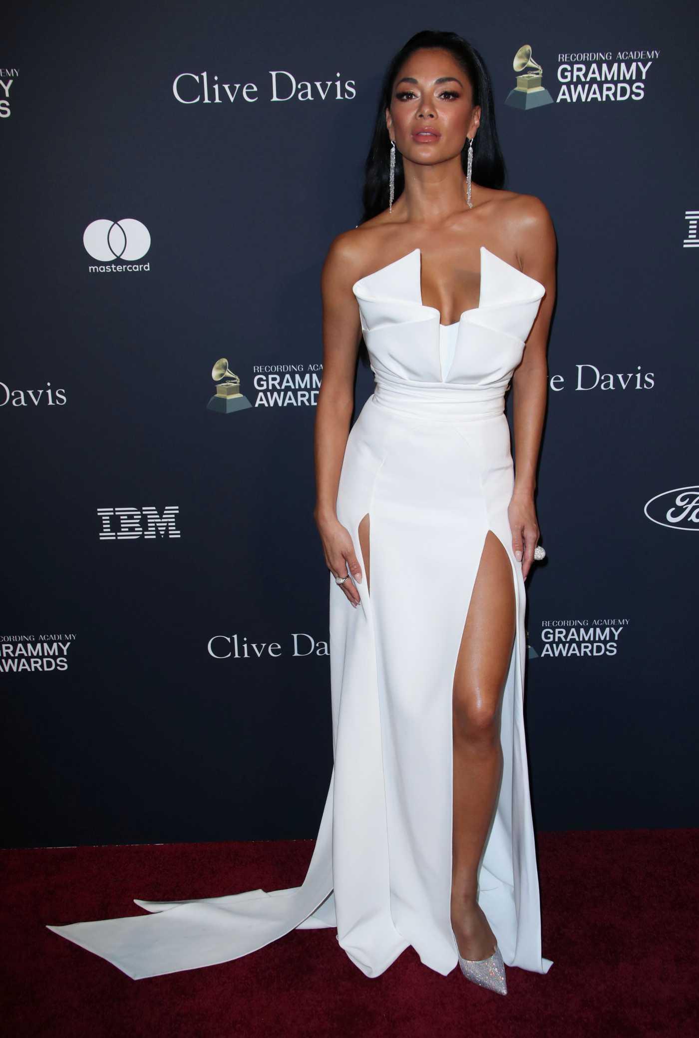 Nicole Scherzinger Attends 2020 Clive Davis Pre-Grammy Gala in Los Angeles 01/25/2020