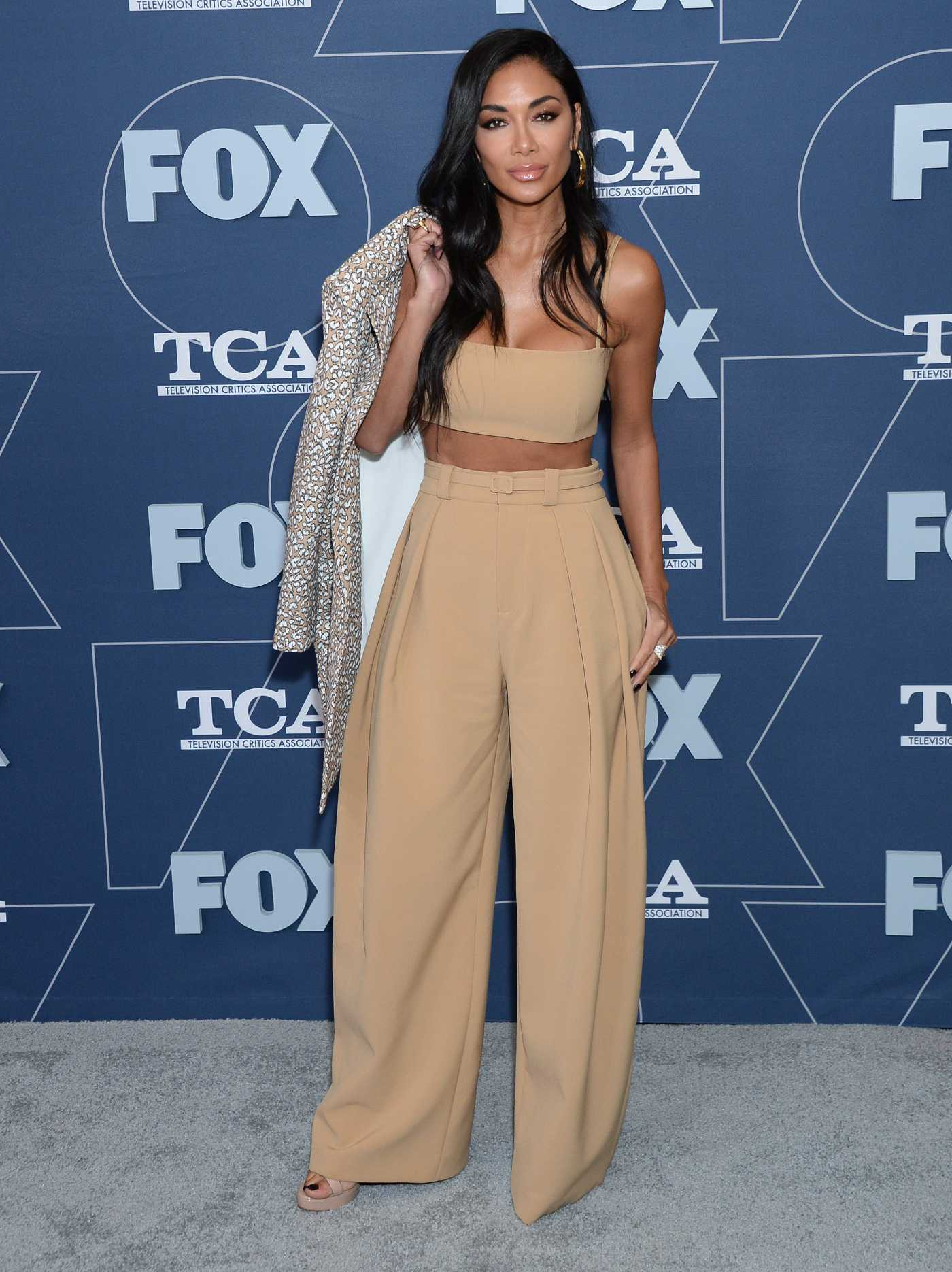 Nicole Scherzinger Attends 2020 Fox TCA Winter Press Tour All-Star Party in Pasadena 01/07/2020
