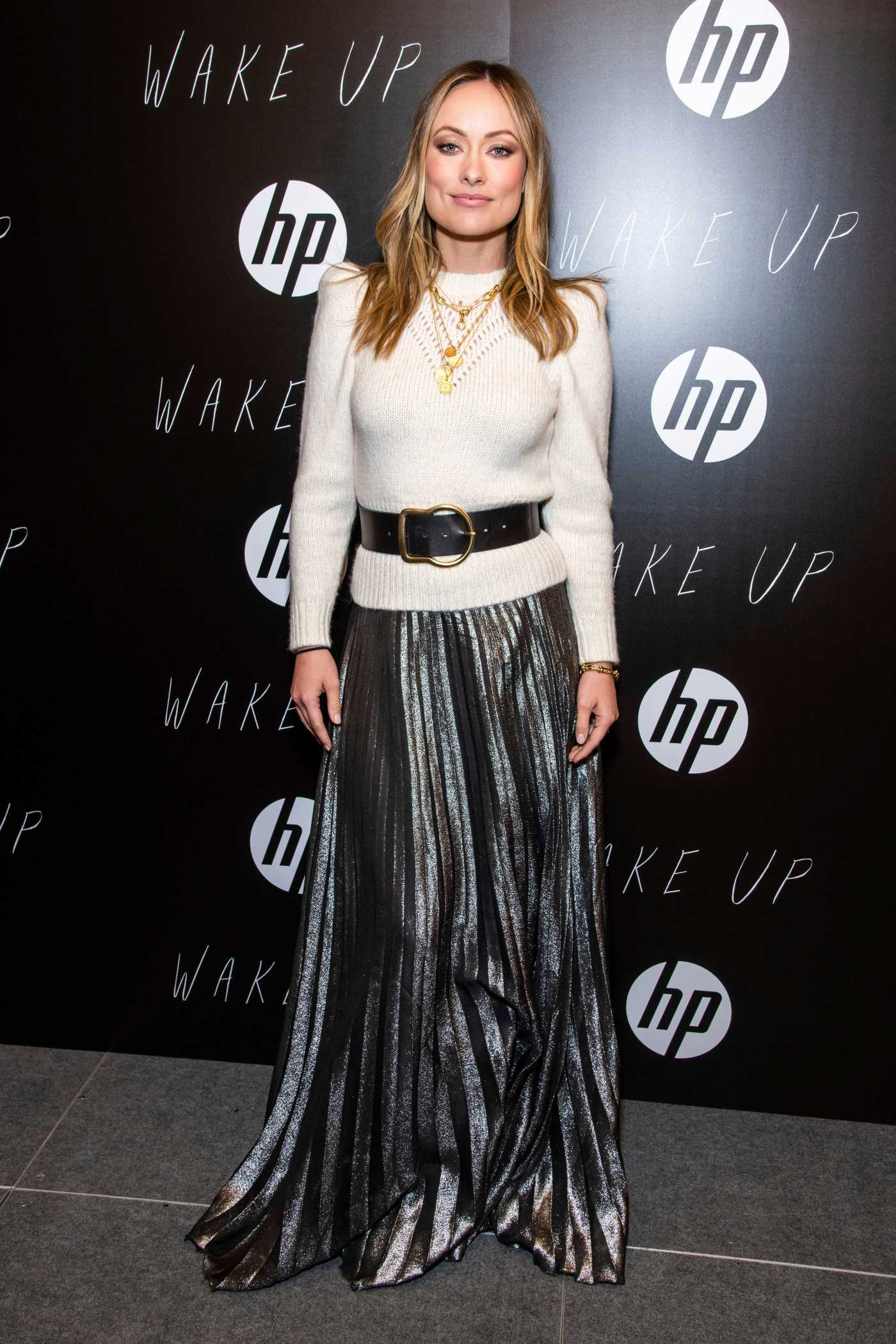Olivia Wilde Attends the Wake Up Premiere During 2020 Sundance Film Festival in Park City 01/24/2020