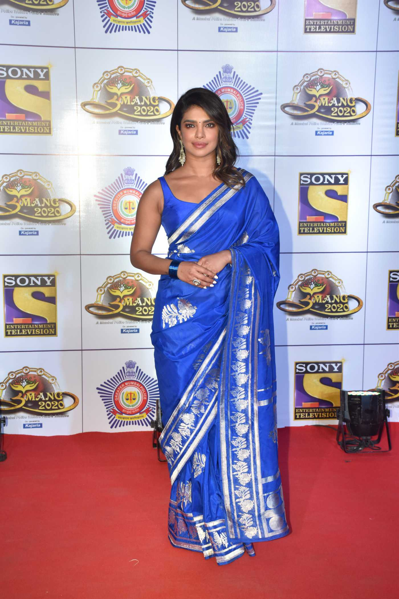 Priyanka Chopra Attends 2020  Umang Police Awards in Mumbai 01/19/2020
