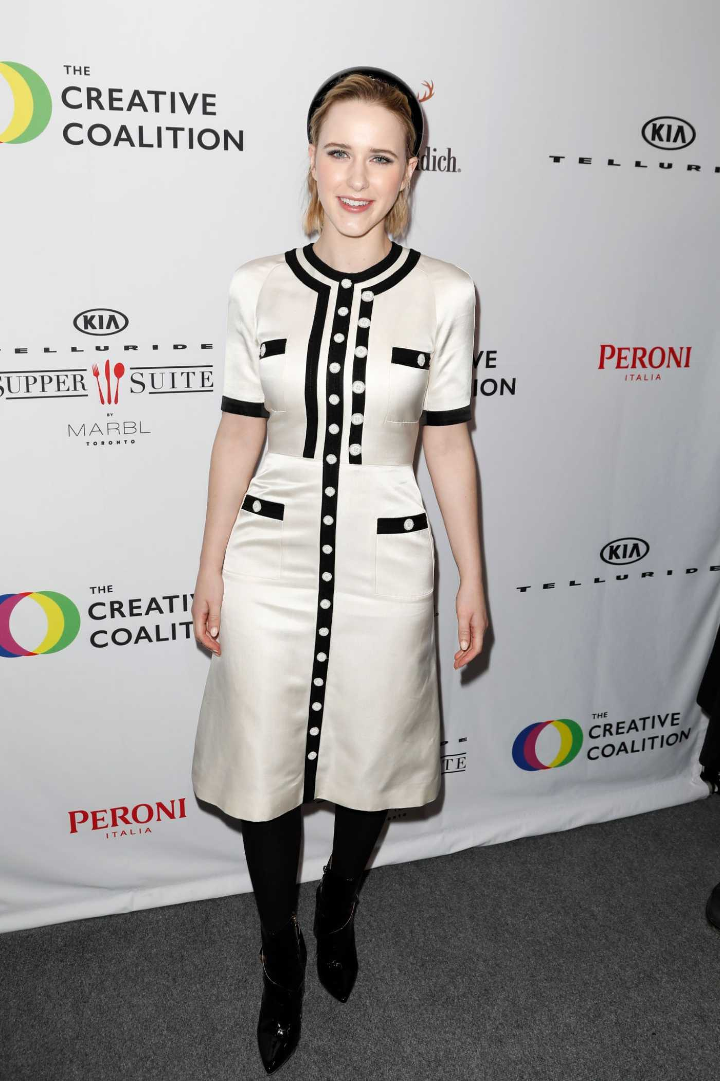 Rachel Brosnahan Attends The Creative Coalition's Spotlight Initiative Gala Awards in Park City 01/25/2020