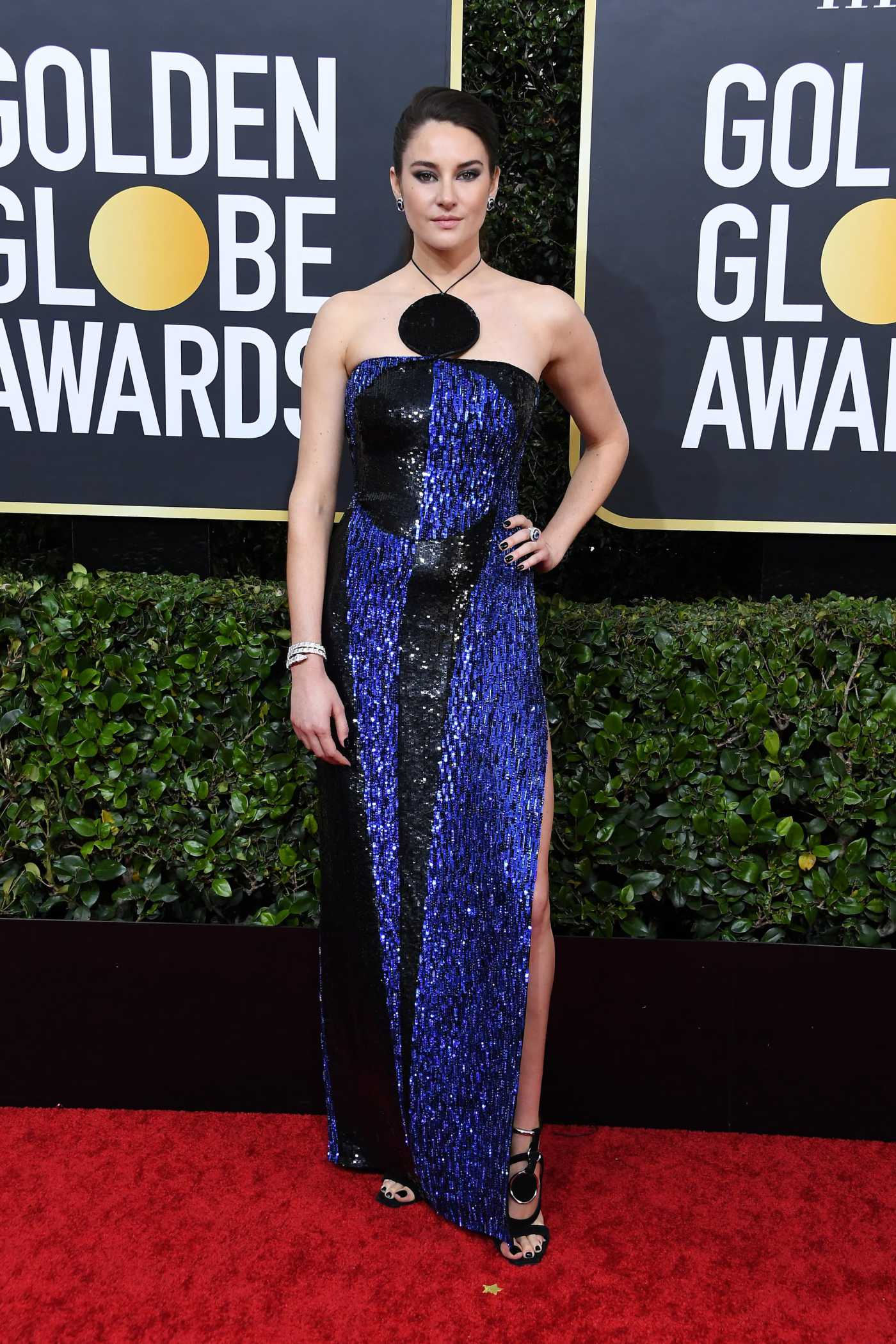 Shailene Woodley Attends the 77th Annual Golden Globe Awards at the Beverly Hilton Hotel in Beverly Hills 01/05/2020