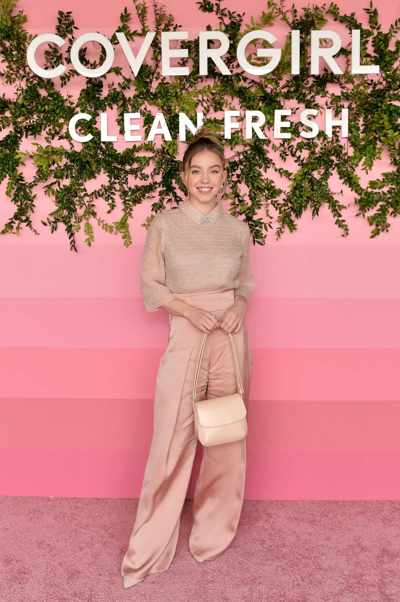Sydney Sweeney Attends the Covergirl Clean Fresh Launch Party in Los Angeles 01/16/2020