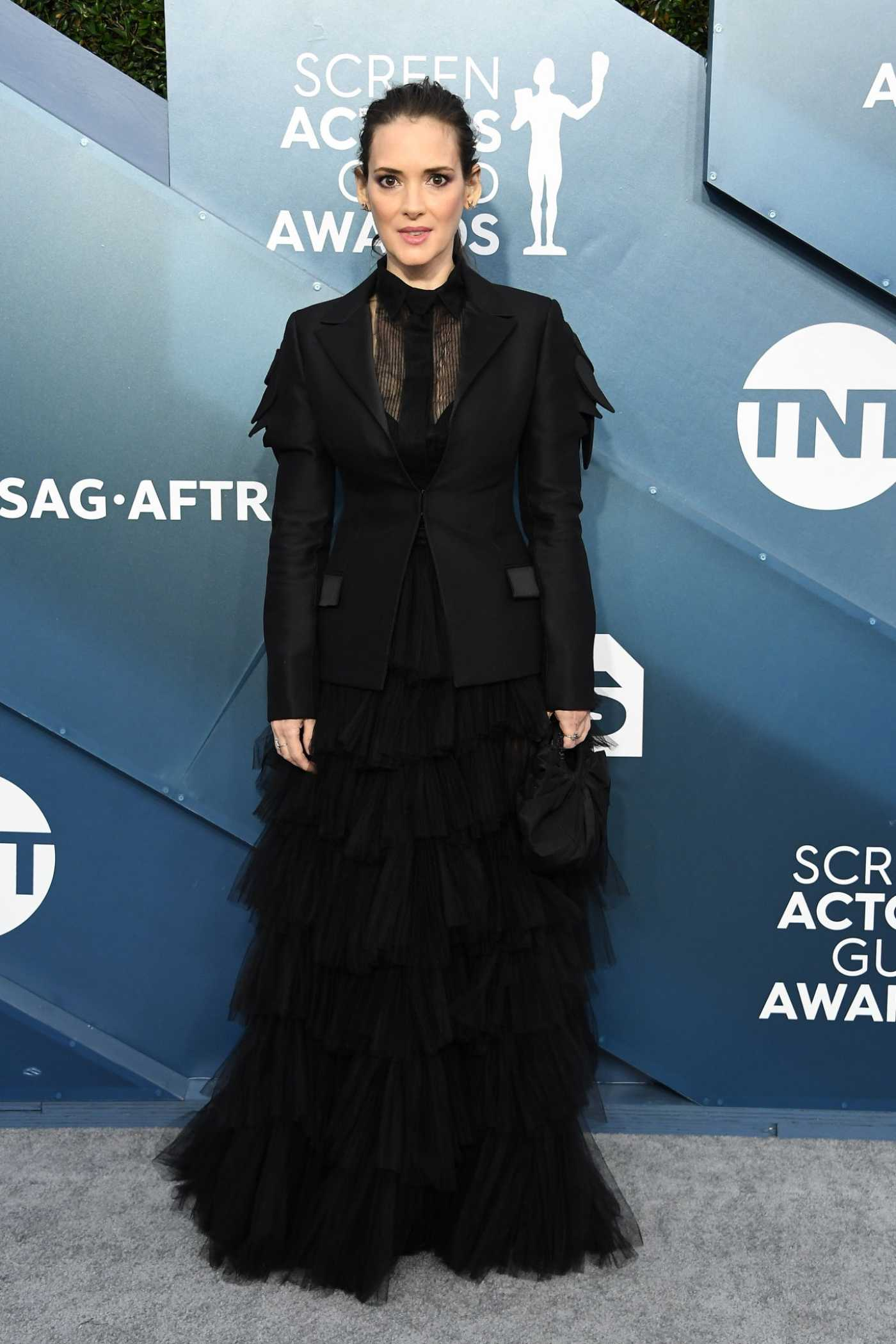 Winona Ryder Attends the 26th Annual Screen Actors Guild Awards in Los Angeles 01/19/2020