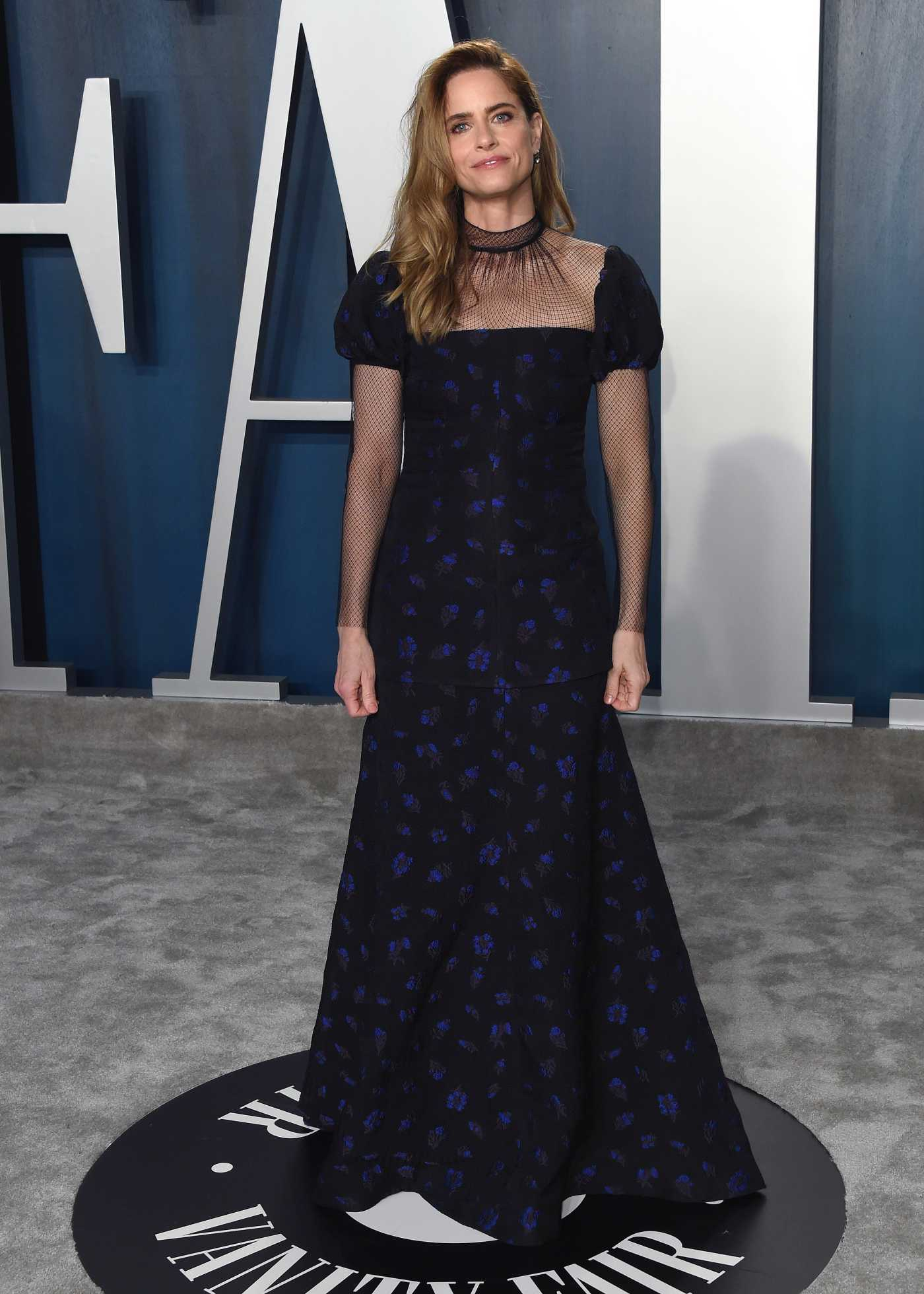 Amanda Peet Attends the 92nd Academy Awards Vanity Fair Oscar Party in Beverly Hills 02/09/2020