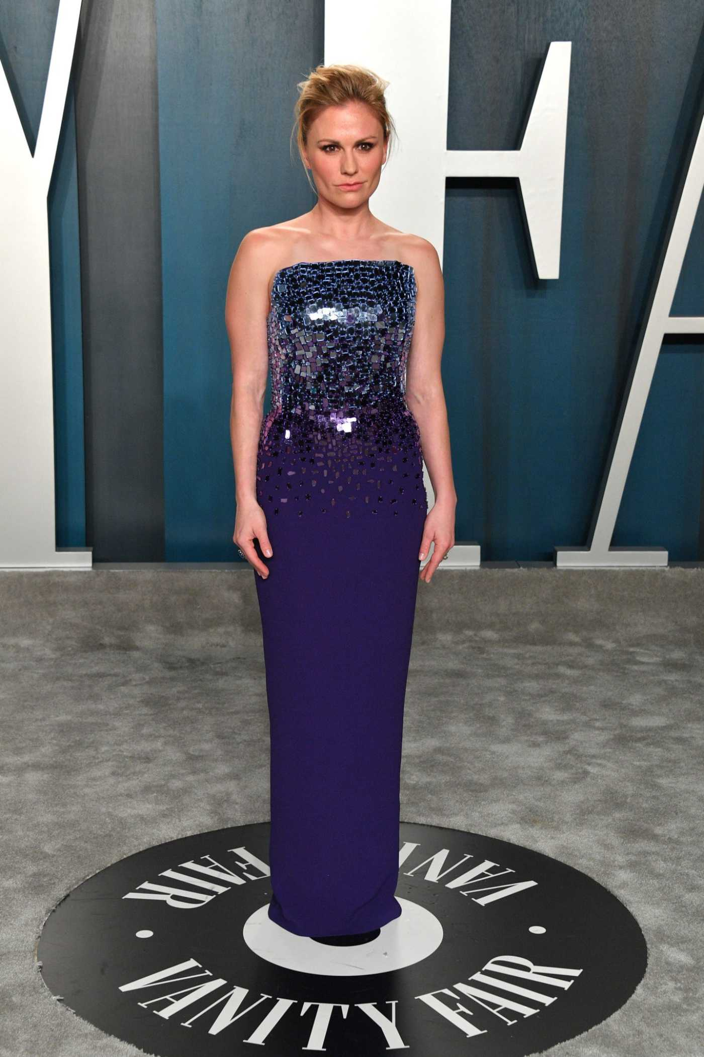Anna Paquin Attends the 92nd Academy Awards Vanity Fair Oscar Party in Beverly Hills 02/09/2020