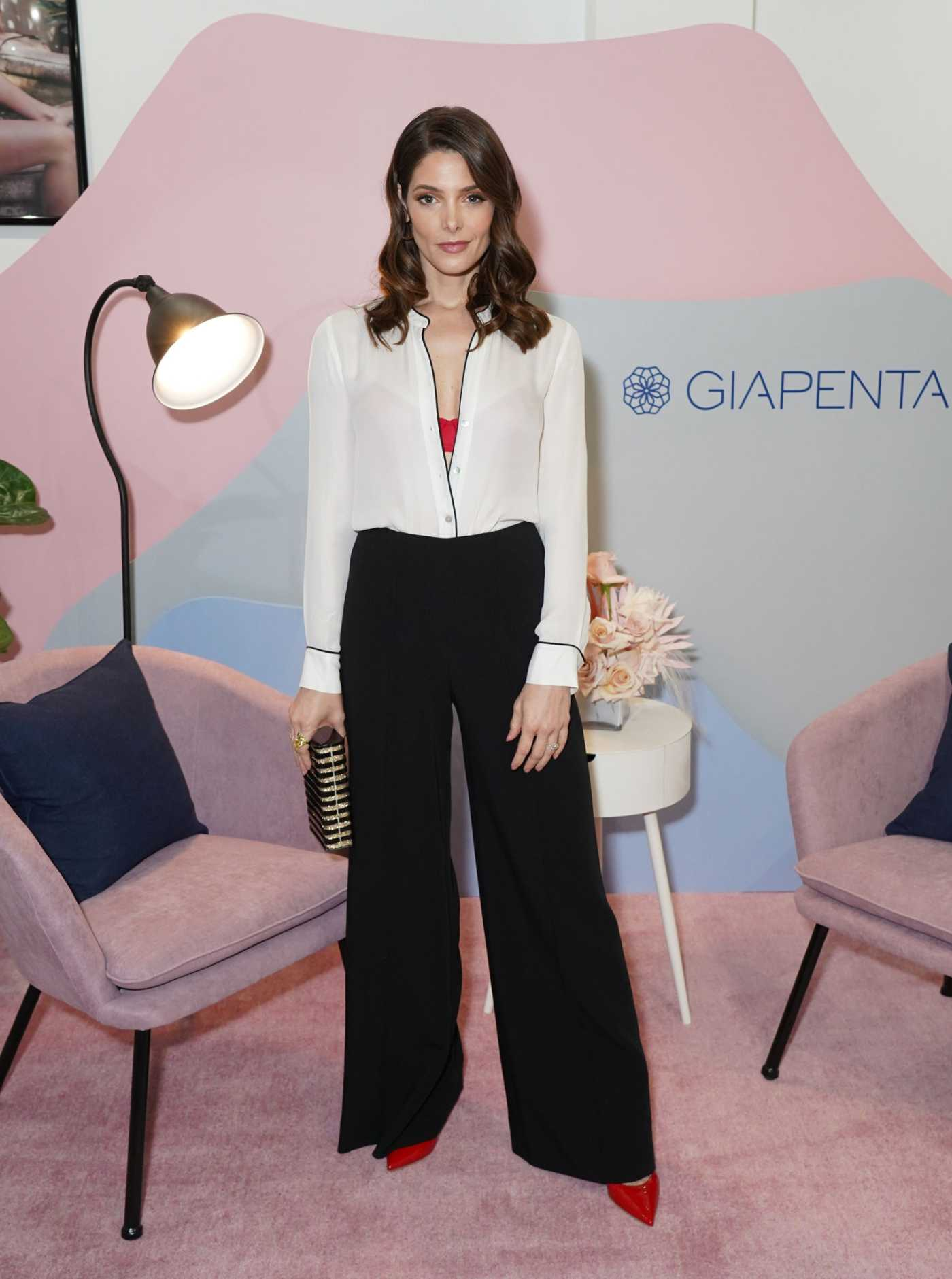 Ashley Greene Attends the Giapenta Wynwood Pop-Up Shop in Miami 02/27/2020