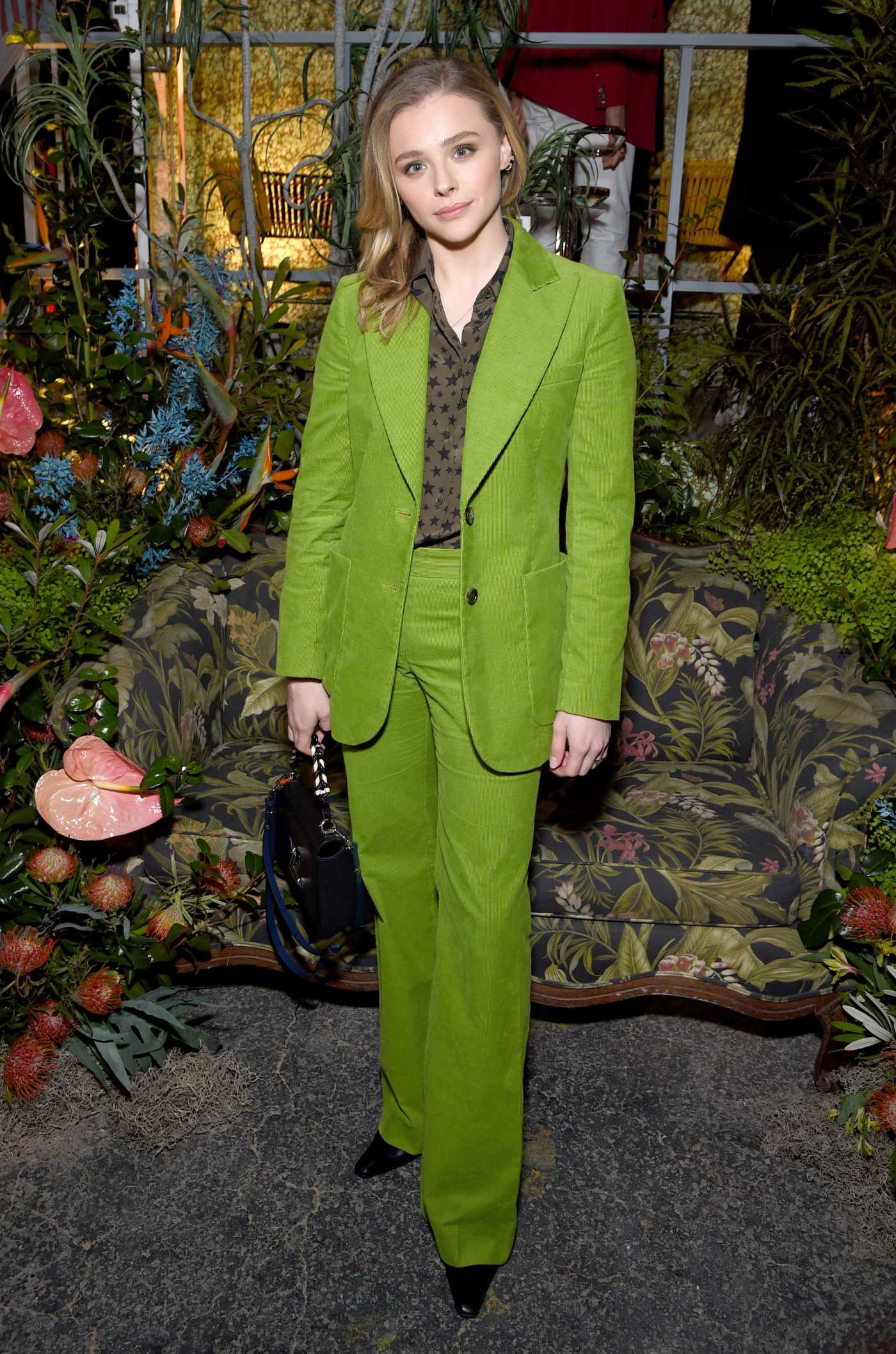 Chloe Moretz Attends the Birkenstock 1774 Collection Matchesfashion Launch Party in LA 02/13/2020
