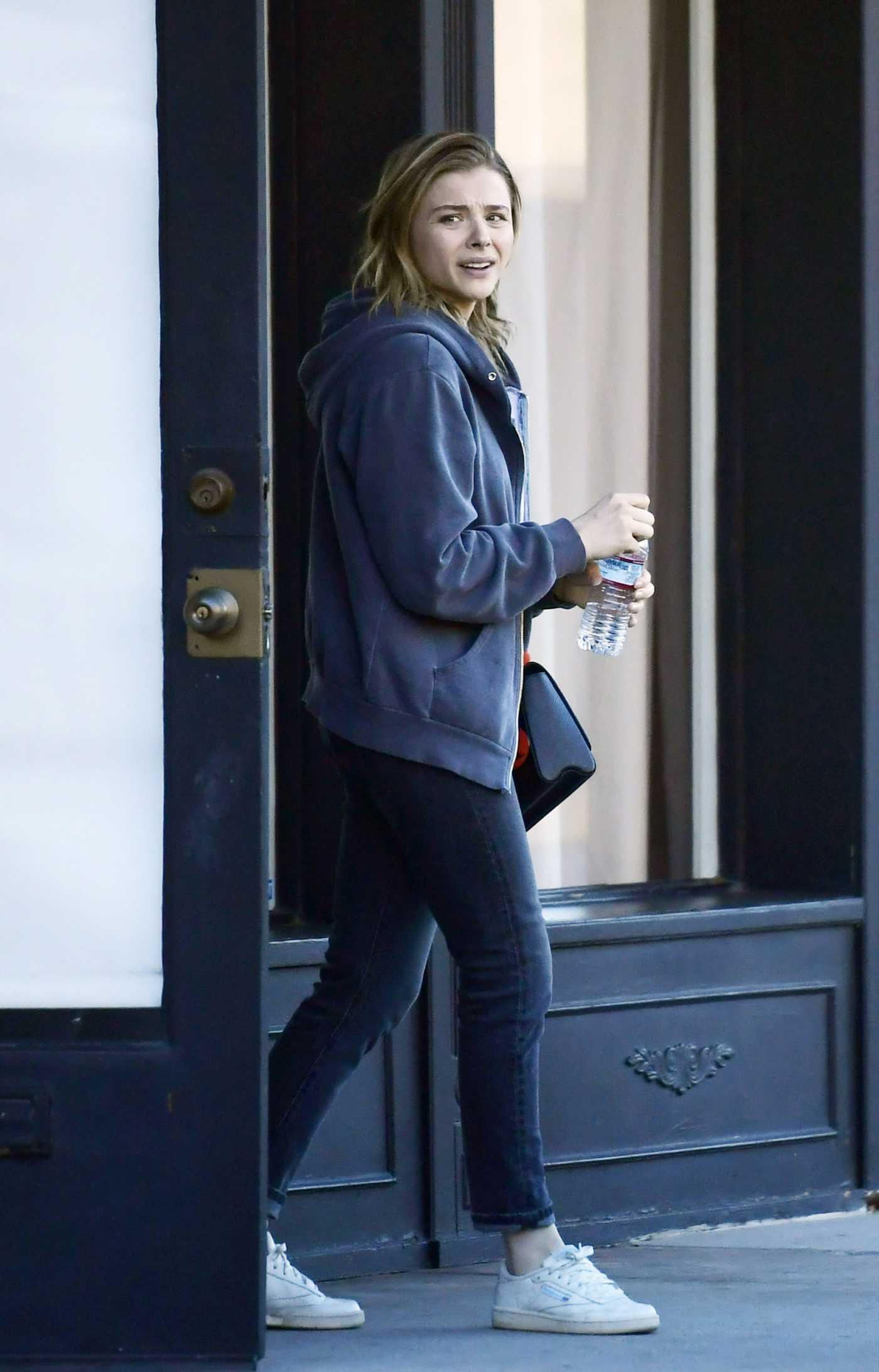 Chloe Moretz in a White Sneakers Was Seen Out in LA 02/04/2020