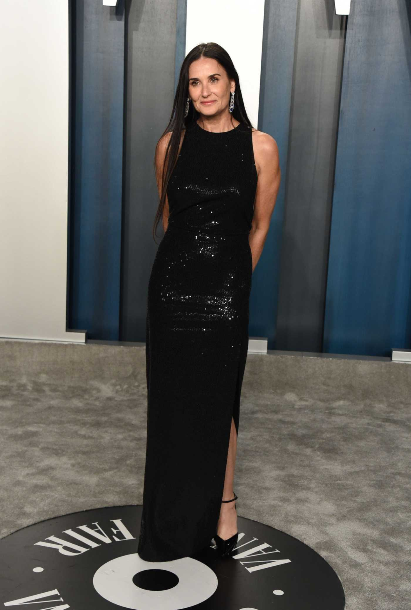 Demi Moore Attends the 92nd Academy Awards Vanity Fair Oscar Party in Beverly Hills 02/09/2020