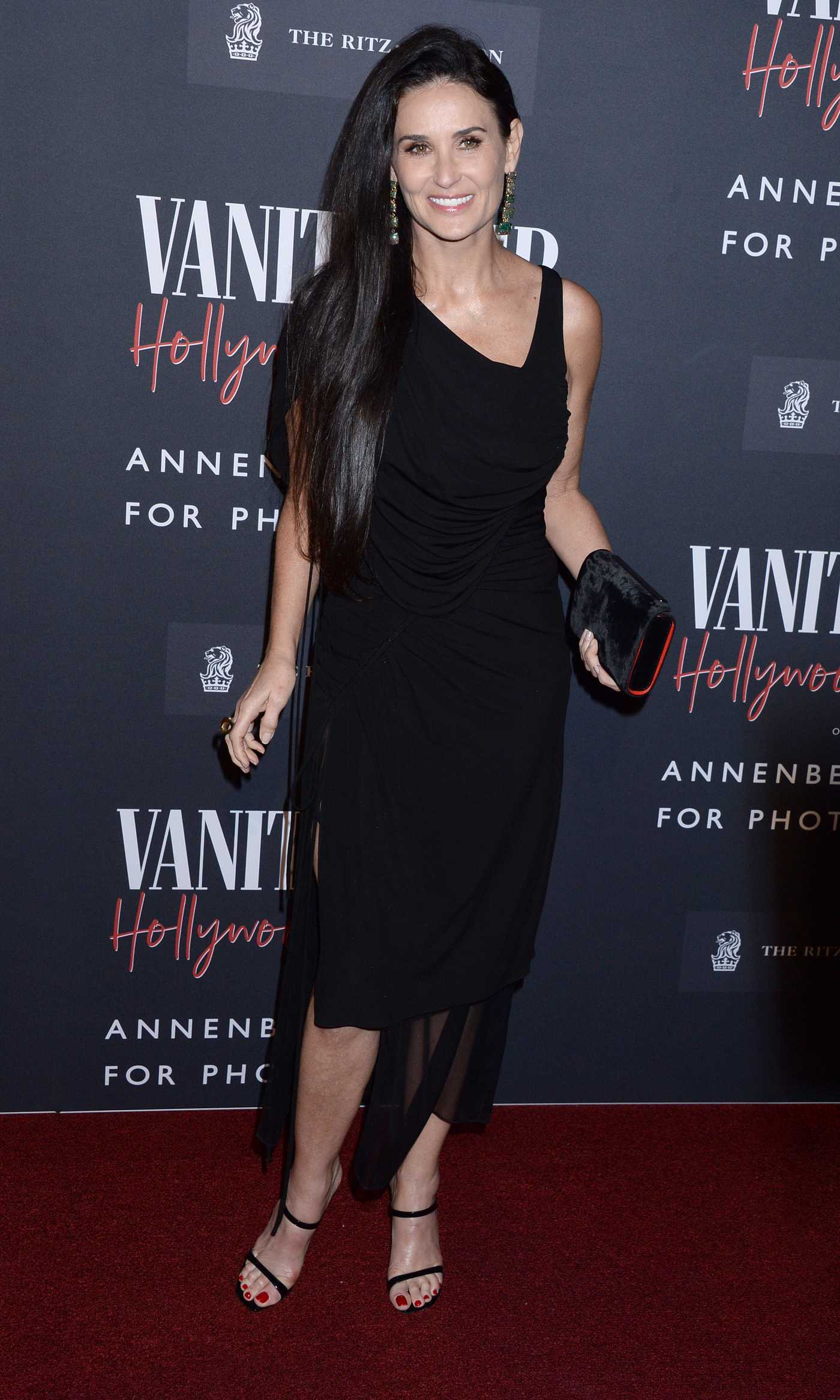 Demi Moore Attends the Vanity Fair: Hollywood Calling Exhibition in Los Angeles 02/04/2020