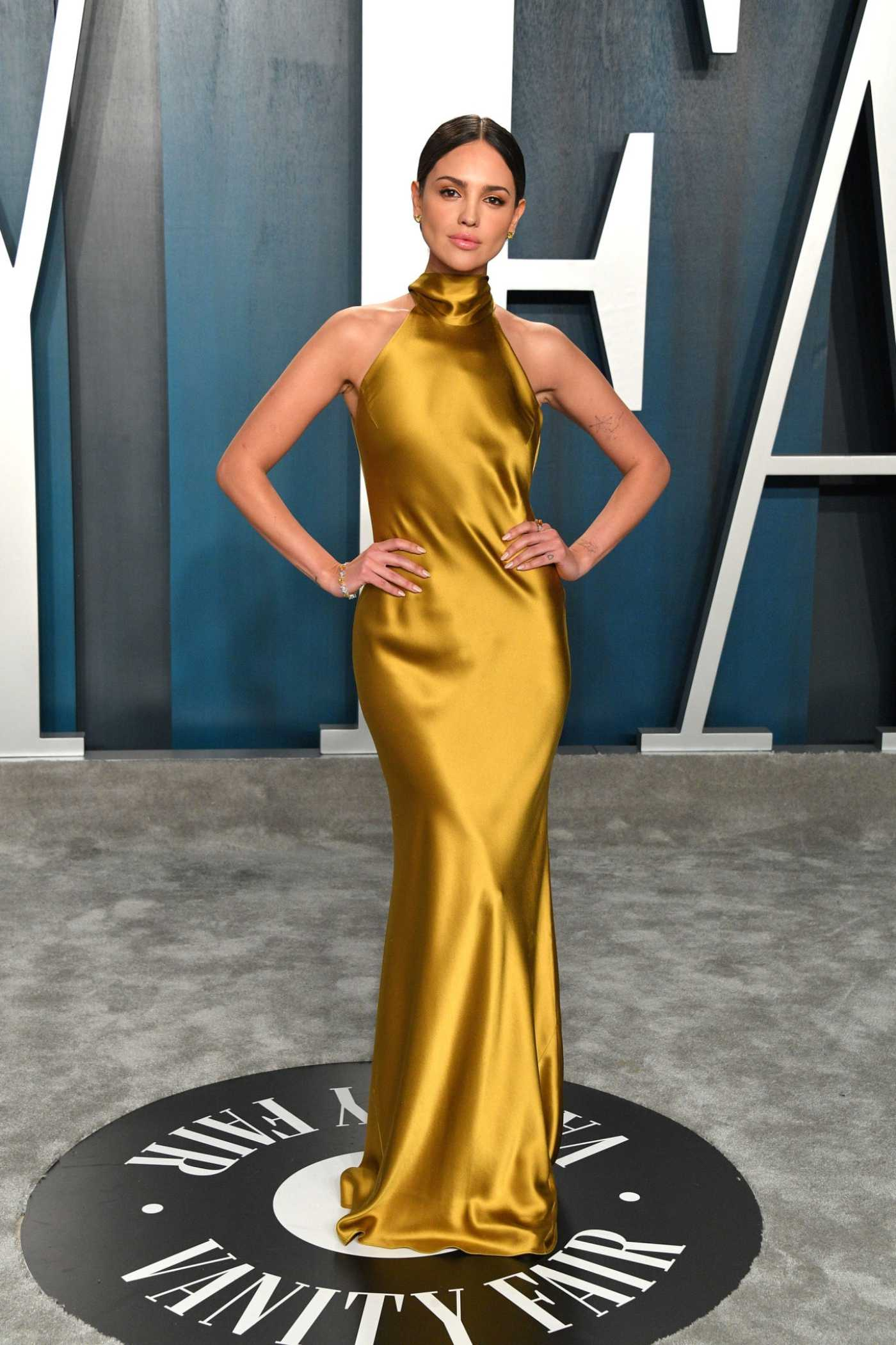 Eiza Gonzalez Attends the 92nd Academy Awards Vanity Fair Oscar Party in Beverly Hills 02/09/2020
