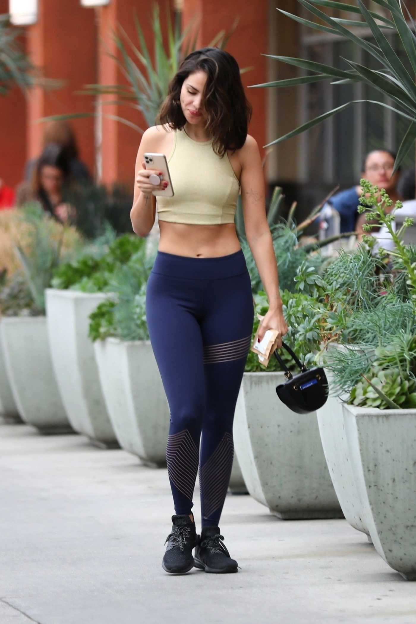 Eiza Gonzalez in a Yellow Top Was Seen Out in LA 02/27/2020