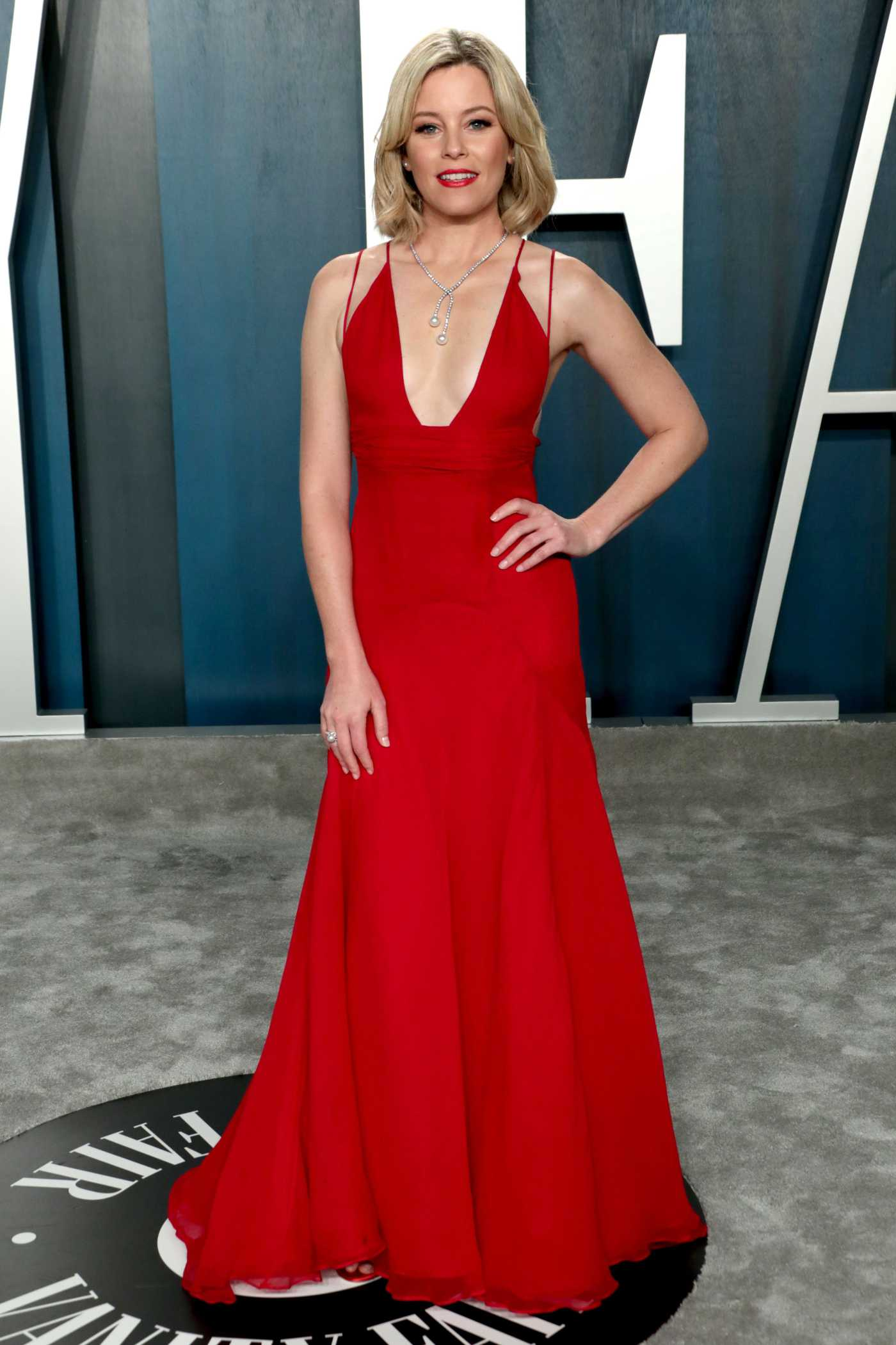 Elizabeth Banks Attends the 92nd Academy Awards Vanity Fair Oscar Party in Beverly Hills 02/09/2020