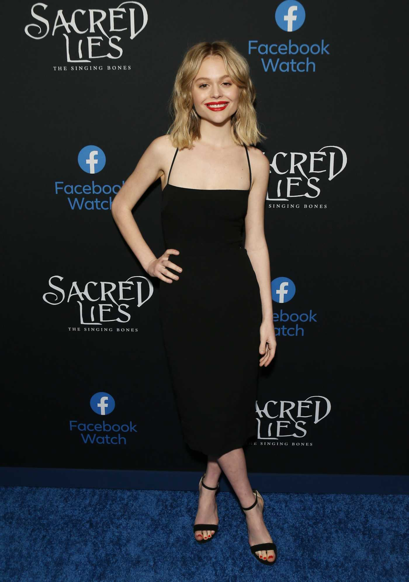 Emily Alyn Lind Attends the Sacred Lies: The Singing Bones Premiere in Los Angeles 02/19/2020