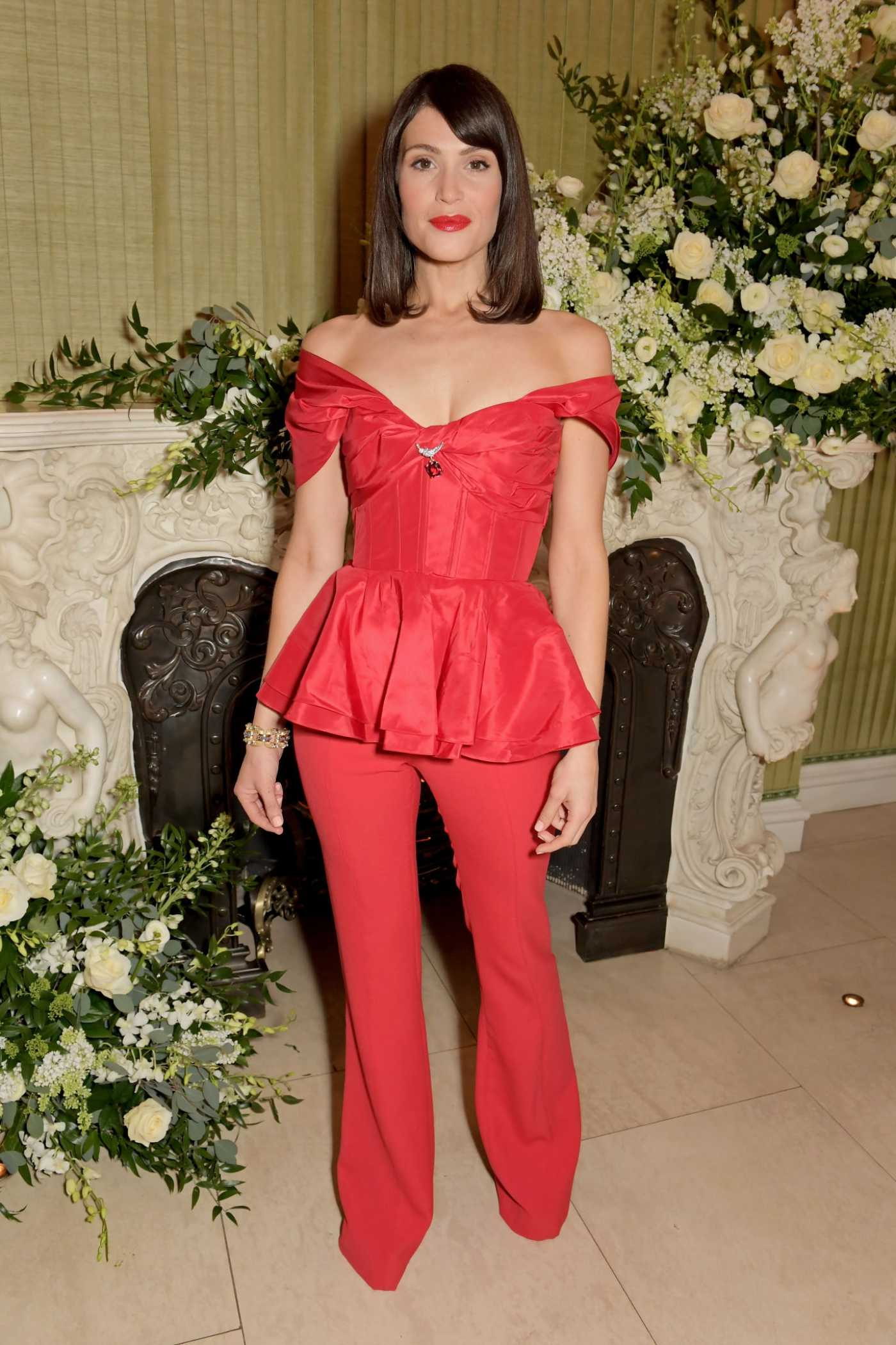 Gemma Arterton Attends 2020 Bafta Vogue x Tiffany Fashion and Film Afterparty in London 02/02/2020