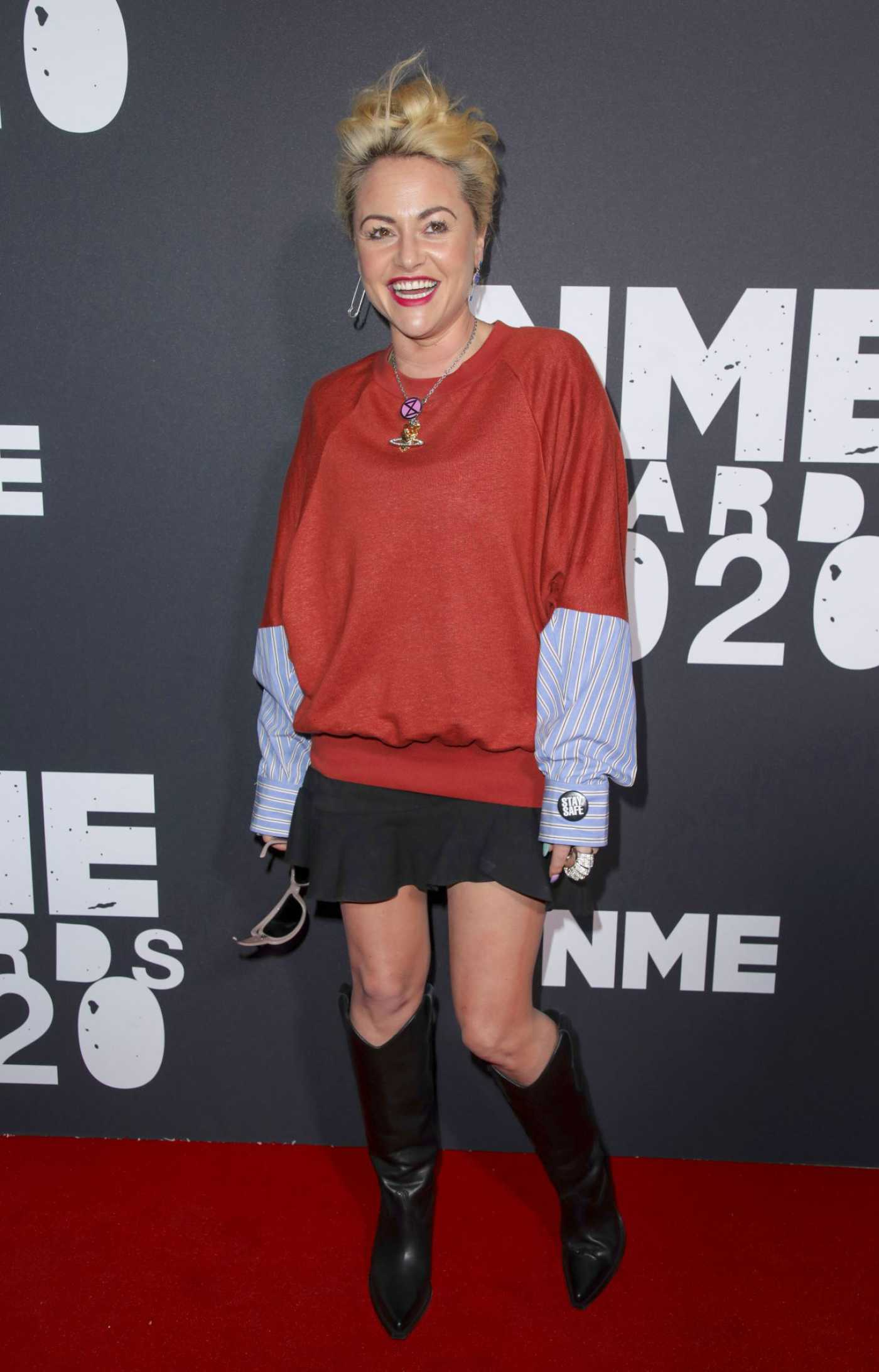 Jaime Winstone Attends 2020 NME Awards in London 02/12/2020
