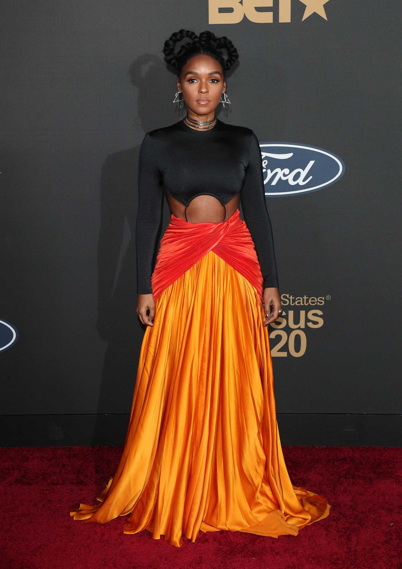Janelle Monae Attends the 51st NAACP Image Awards at Pasadena Civic Auditorium in Pasadena 02/22/2020