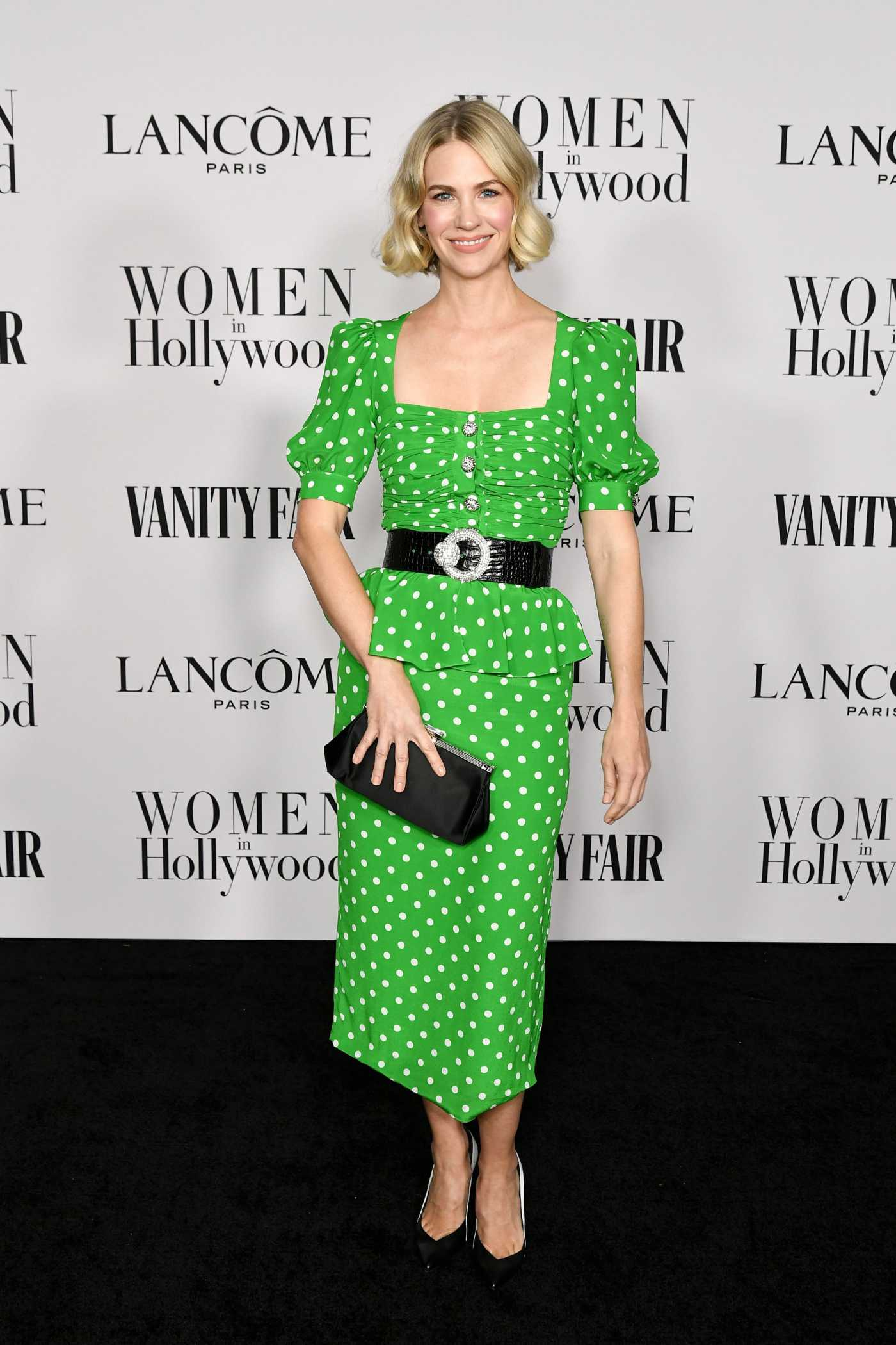January Jones Attends the Vanity Fair and Lancome Women in Hollywood Celebration at SoHo House in West Hollywood 02/06/2020