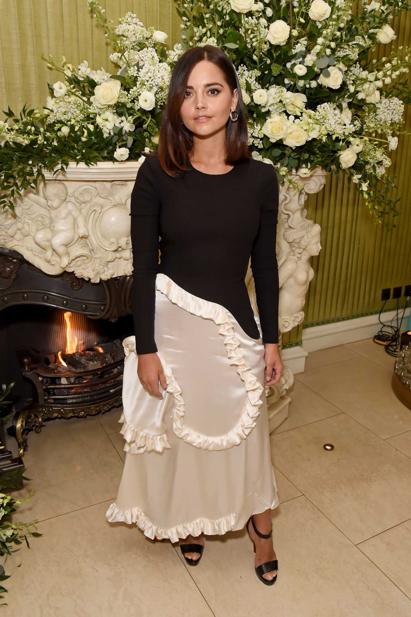 Jenna Coleman Attends 2020 Bafta Vogue x Tiffany Fashion and Film Afterparty in London 02/02/2020