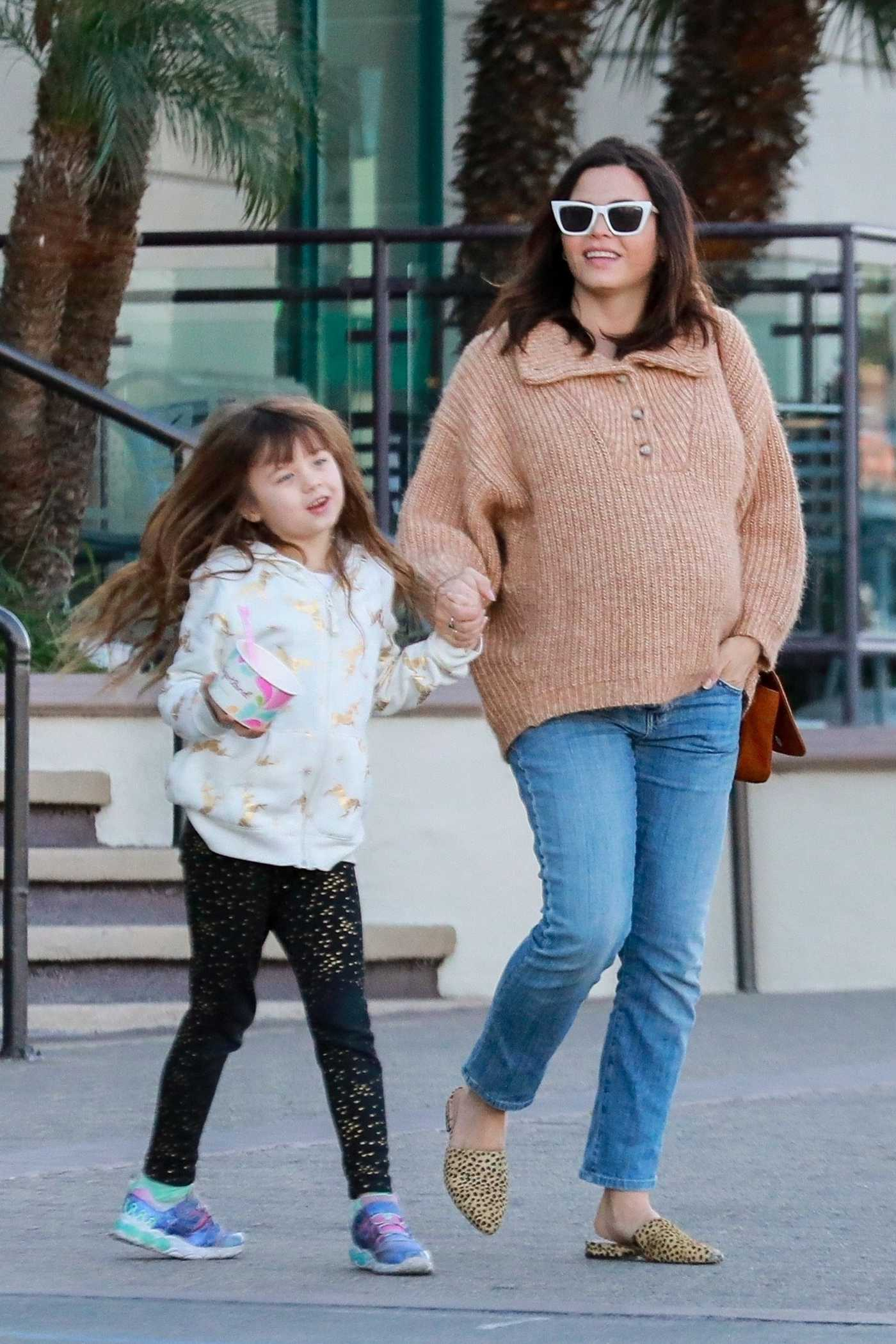 Jenna Dewan Was Seen Out with Her Daughter in Los Angeles 02/03/2020
