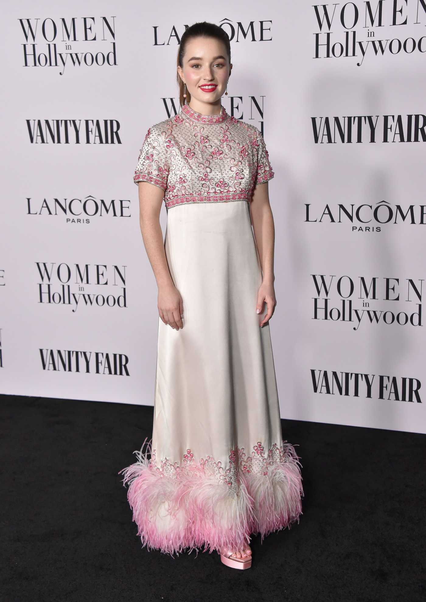 Kaitlyn Dever Attends the Vanity Fair and Lancome Women in Hollywood Celebration at SoHo House in West Hollywood 02/06/2020