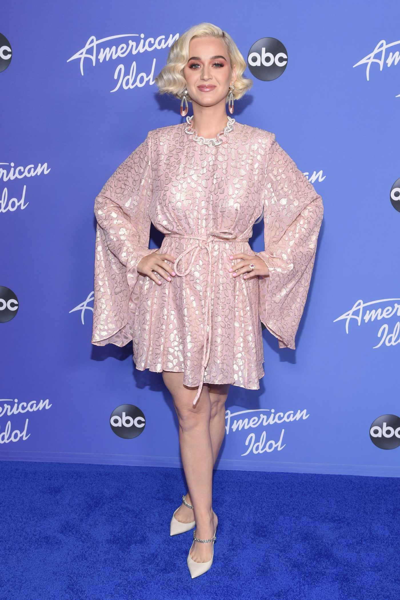 Katy Perry Attends Premiere Event for New American Idol Season in Hollywood 02/12/2020