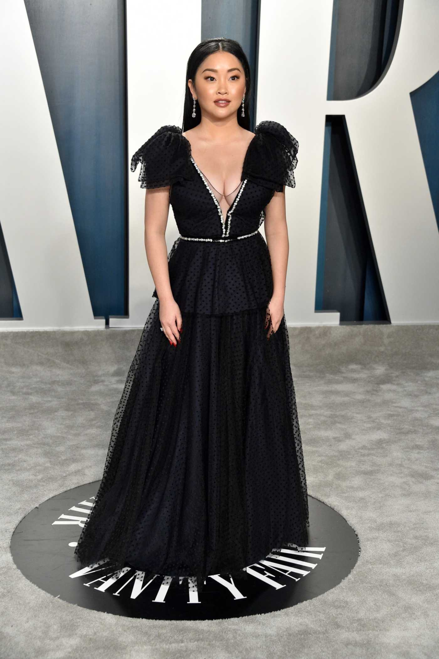 Lana Condor Attends the 92nd Academy Awards Vanity Fair Oscar Party in Beverly Hills 02/09/2020