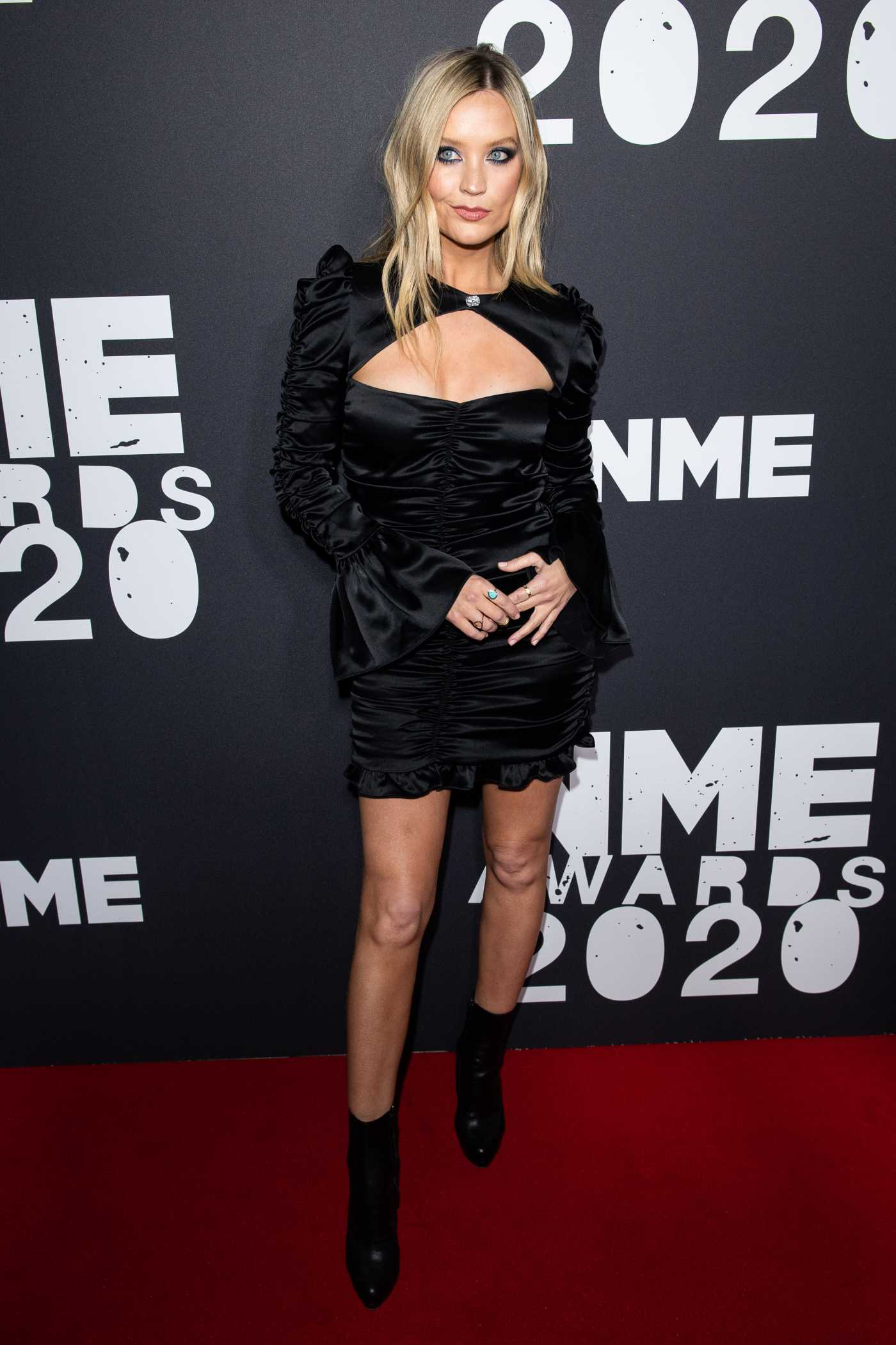 Laura Whitmore Attends 2020 NME Awards in London 02/12/2020