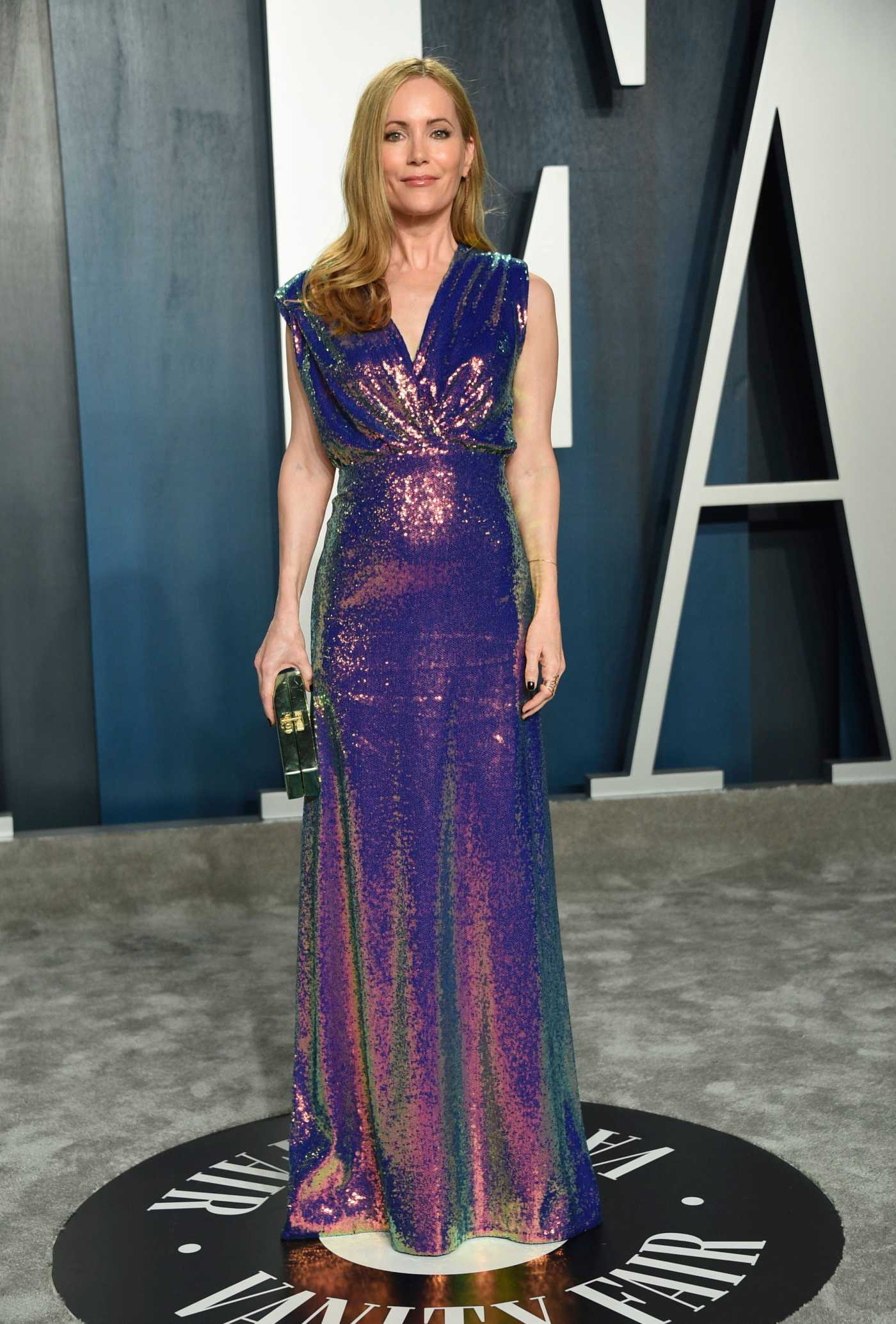 Leslie Mann Attends the 92nd Academy Awards Vanity Fair Oscar Party in Beverly Hills 02/09/2020