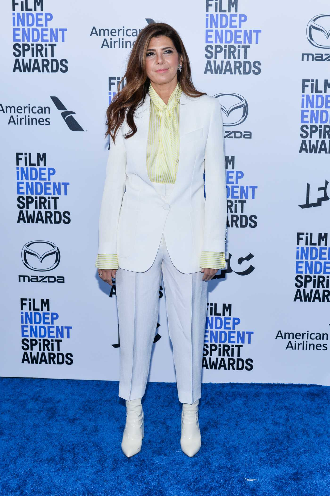 Marisa Tomei Attends 2020 Film Independent Spirit Awards in Santa Monica 02/08/2020