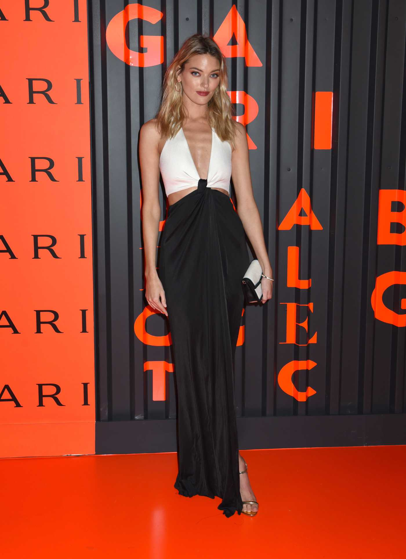 Martha Hunt Attends the Bvlgari Celebrates B.zero1 Rock Collection in Brooklyn, New York 02/06/2020