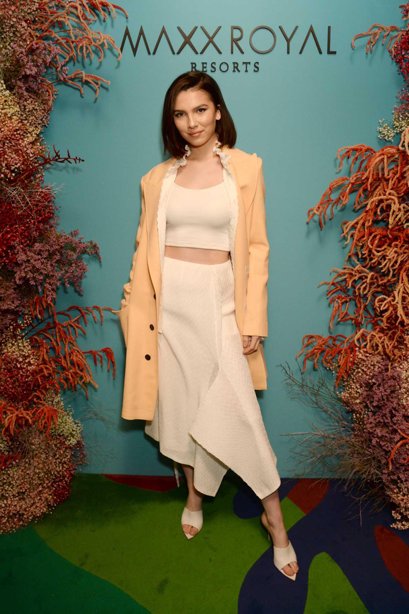 Maya Henry Attends the Natalia Vodianova x Maxx Resorts Party in London 02/17/2020