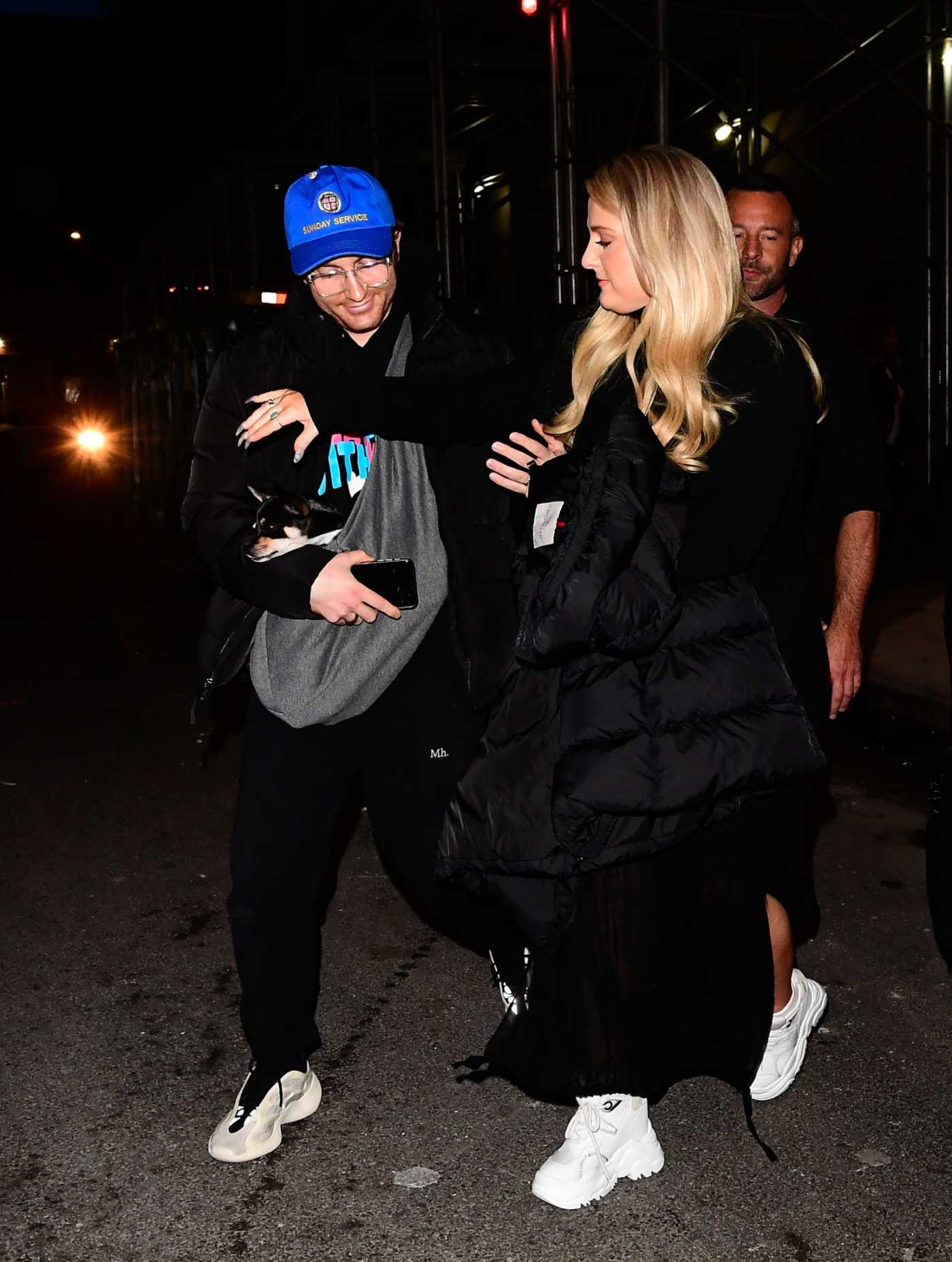 Meghan Trainor Was Seen Out in New York City 02/03/2020