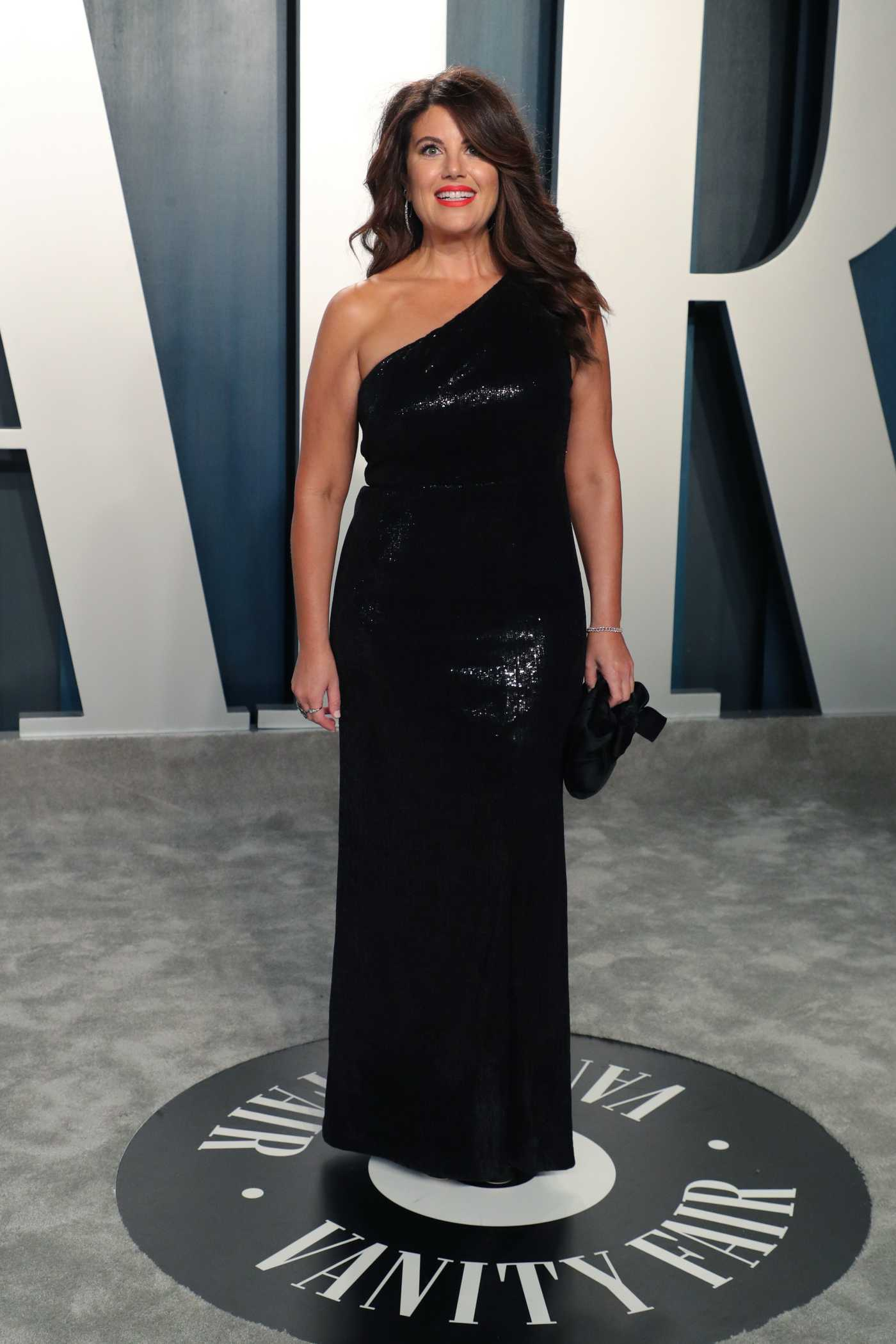 Monica Lewinsky Attends the 92nd Academy Awards Vanity Fair Oscar Party in Beverly Hills 02/09/2020
