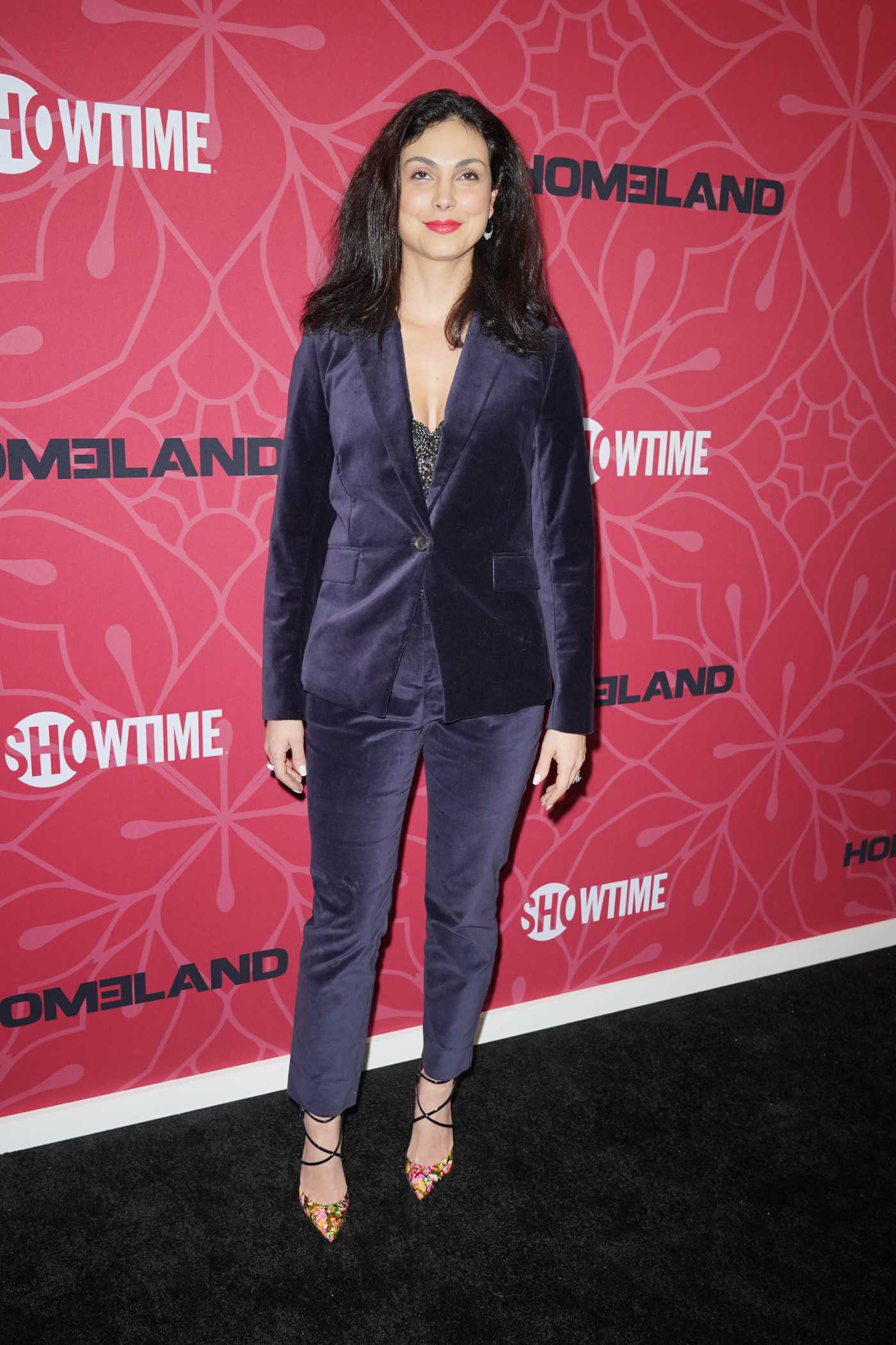 Morena Baccarin Attends the Homeland Season 8 Premiere in New York 02/04/2020