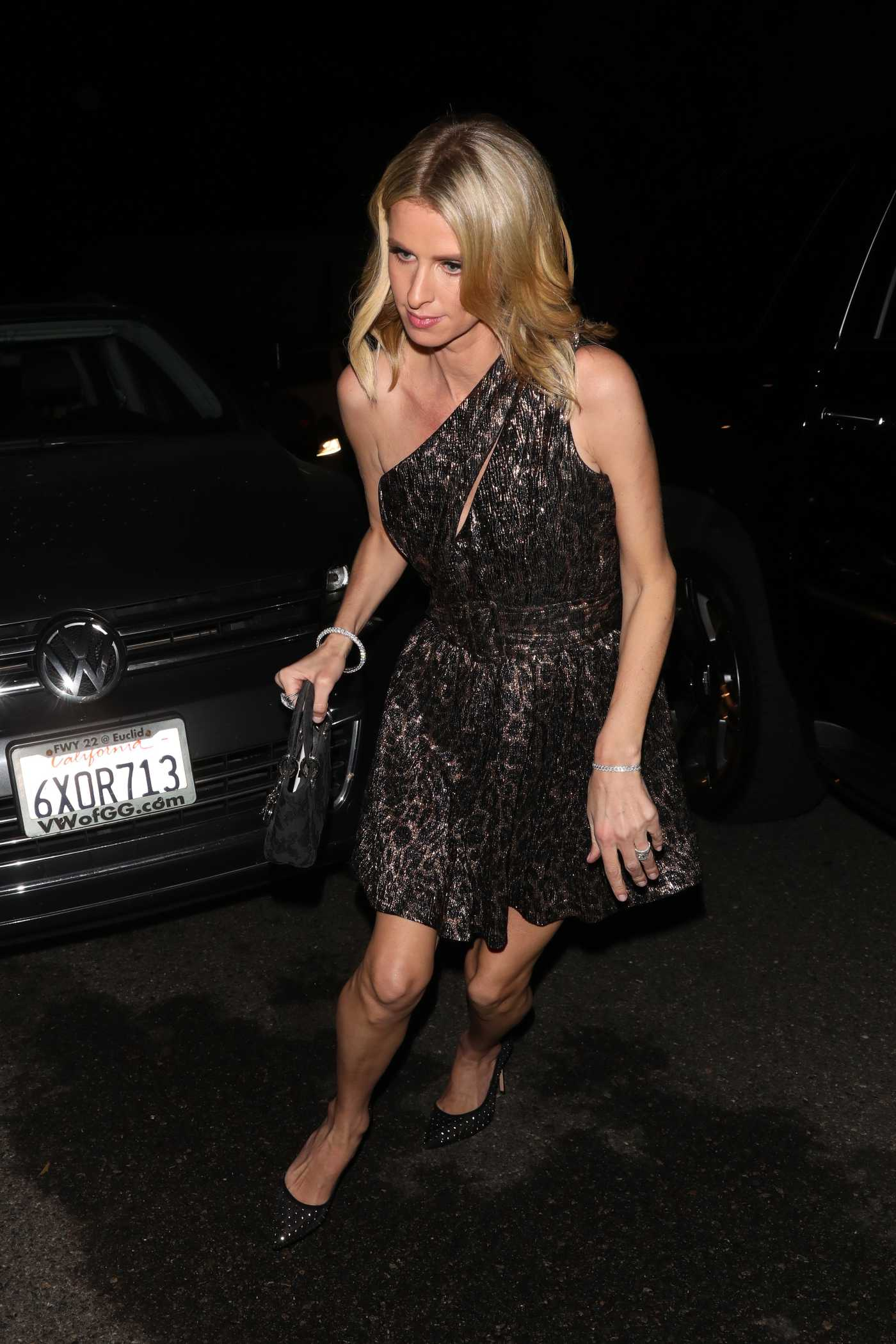 Nicky Hilton Arrives at Paris Hilton's 39th Birthday Party in Los Angeles 02/21/2020