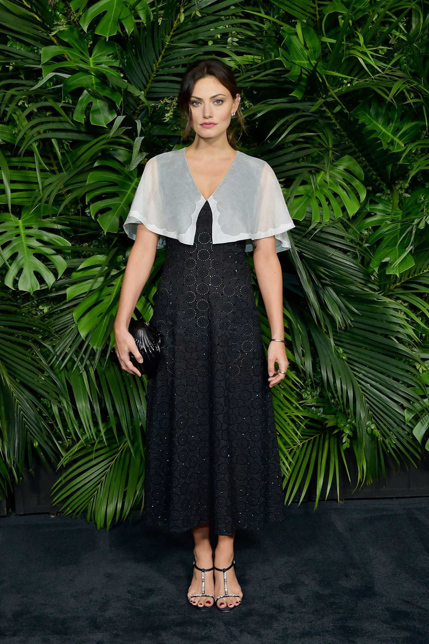 Phoebe Tonkin Attends 2020 Charles Finch and Chanel Pre-Oscars Dinner in Beverly Hills 02/08/2020