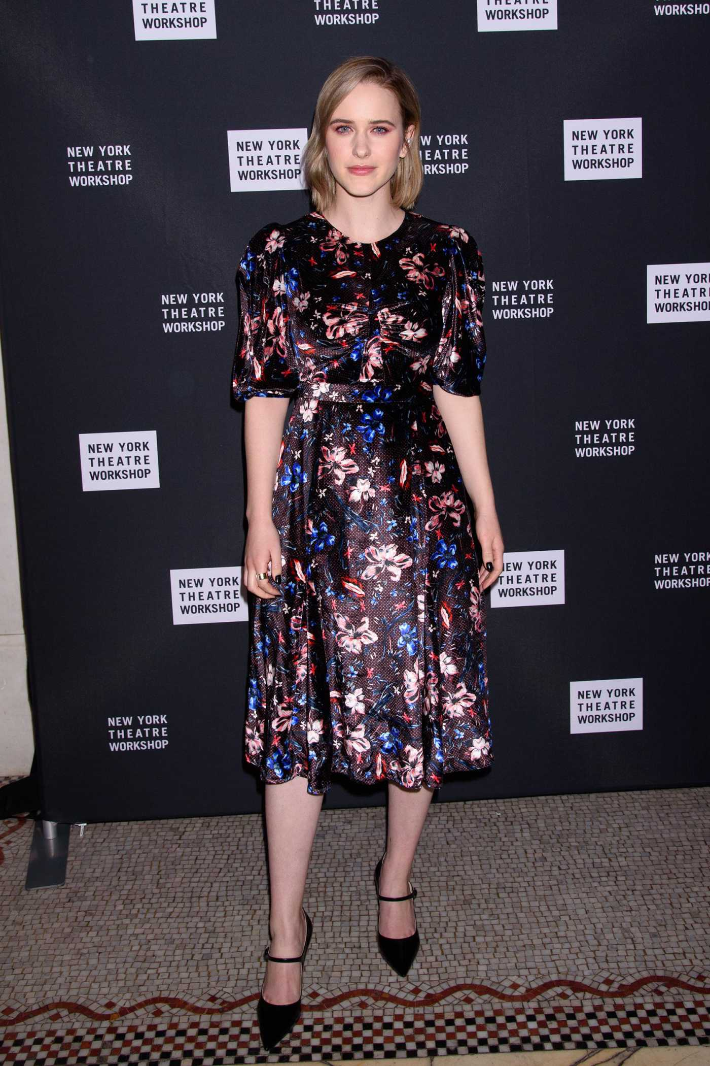 Rachel Brosnahan Attends New York Theater Workshop Gala in New York 02/03/2020