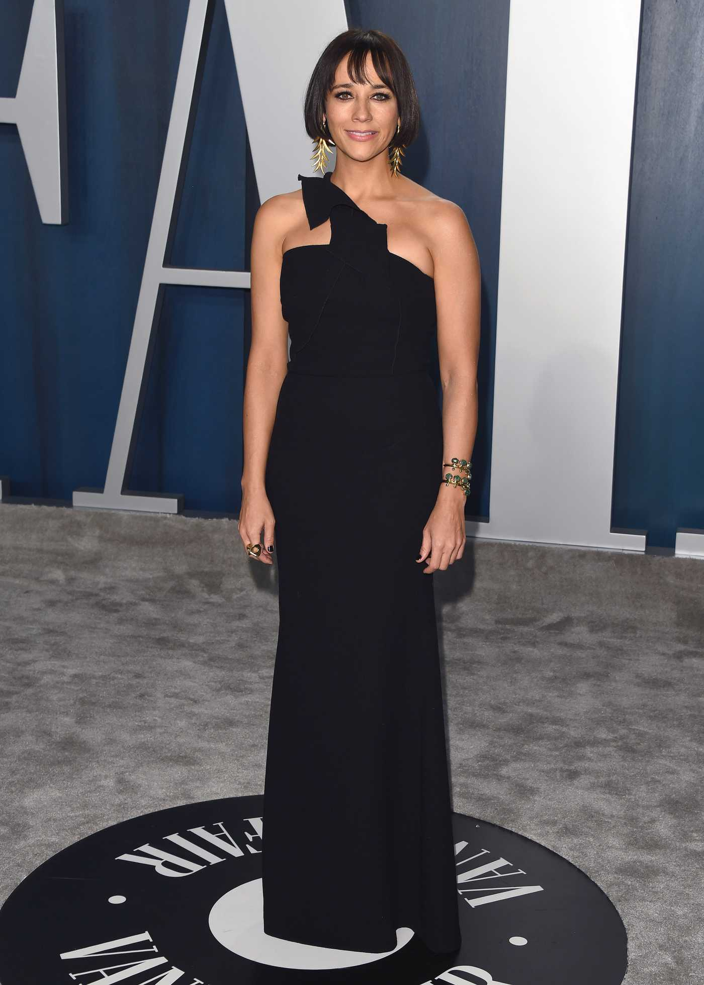 Rashida Jones Attends the 92nd Academy Awards Vanity Fair Oscar Party in Beverly Hills 02/09/2020