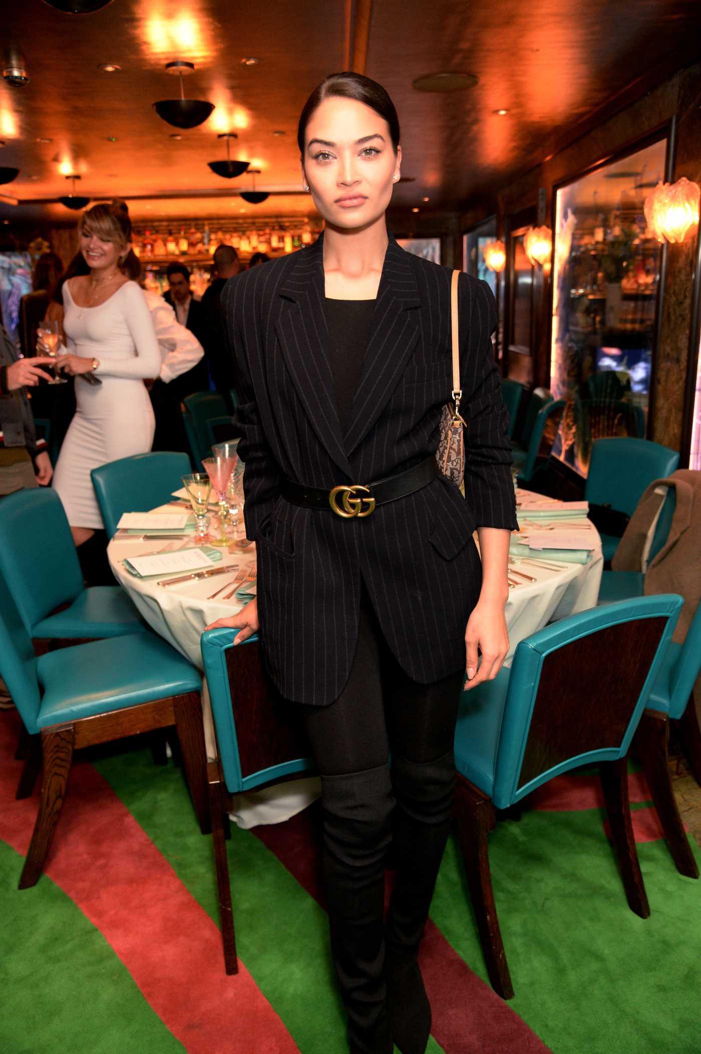 Shanina Shaik Attends the Natalia Vodianova x Maxx Resorts Party in London 02/17/2020