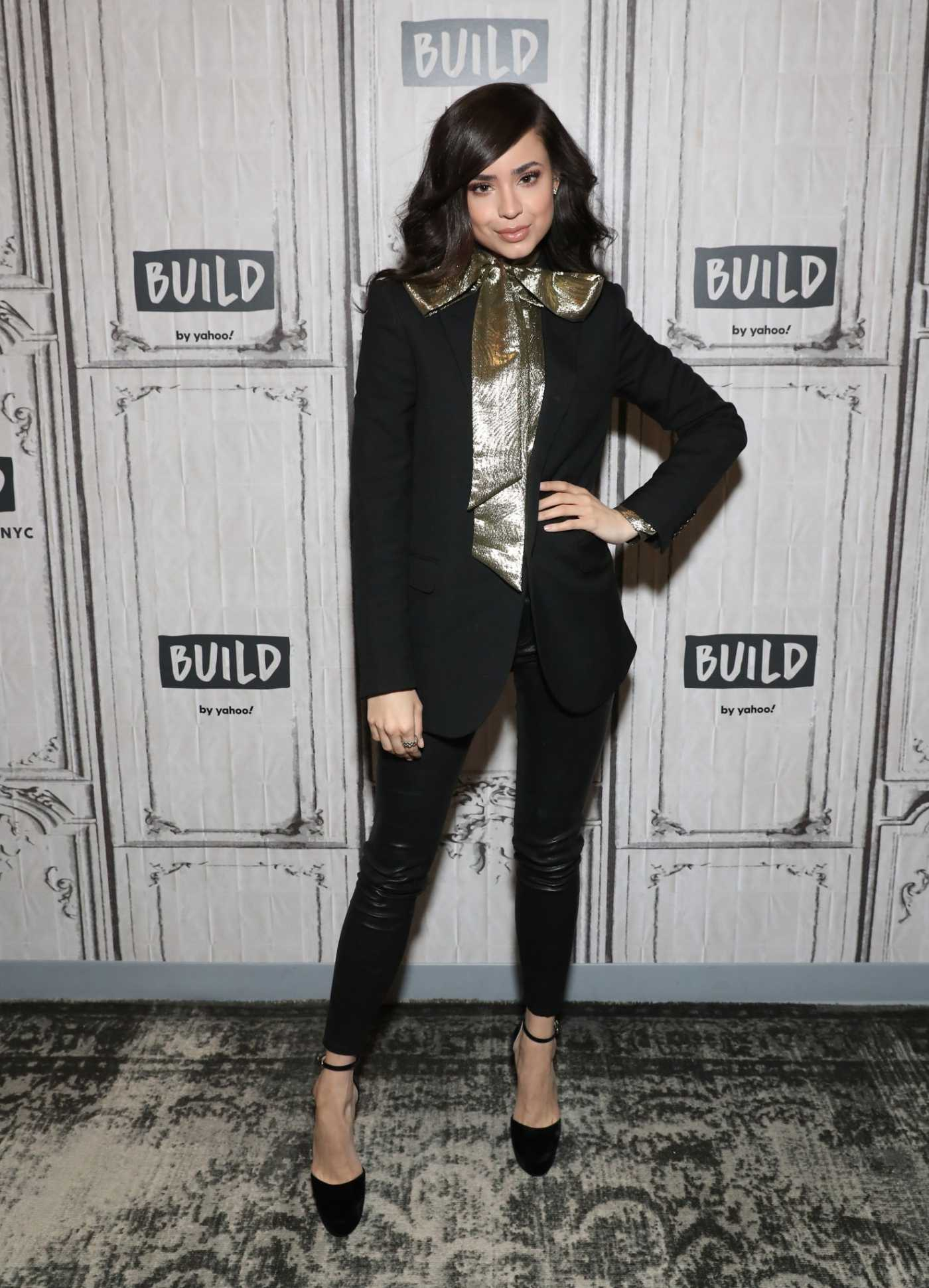 Sofia Carson Visits the Build Studio in New York City 01/30/2020