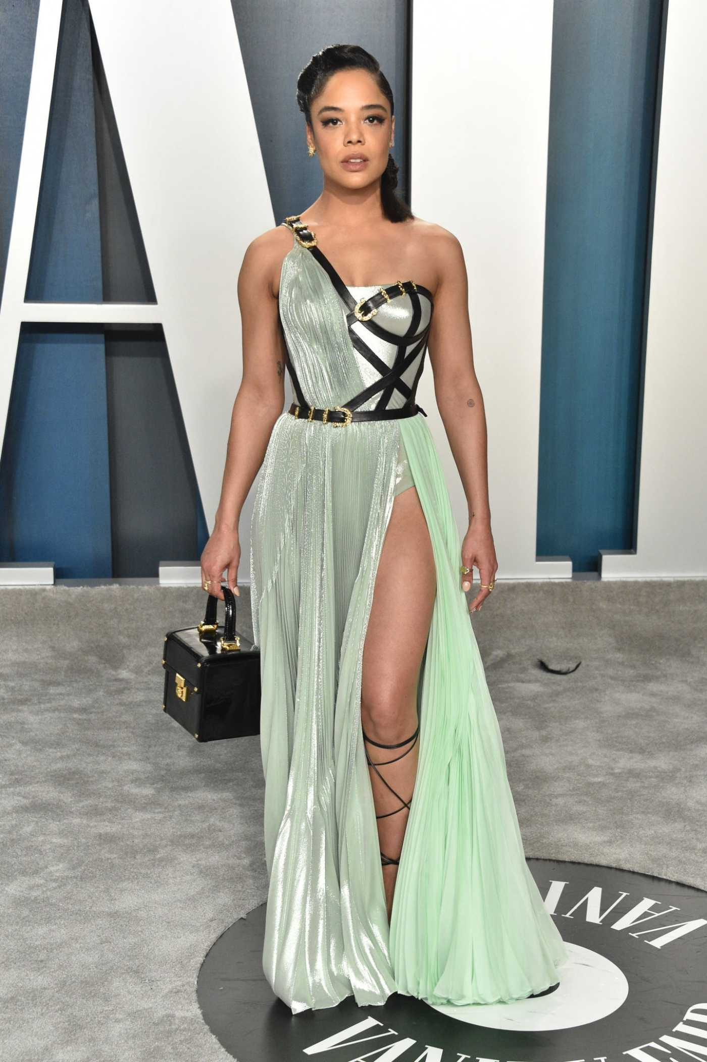 Tessa Thompson Attends the 92nd Academy Awards Vanity Fair Oscar Party in Beverly Hills 02/09/2020