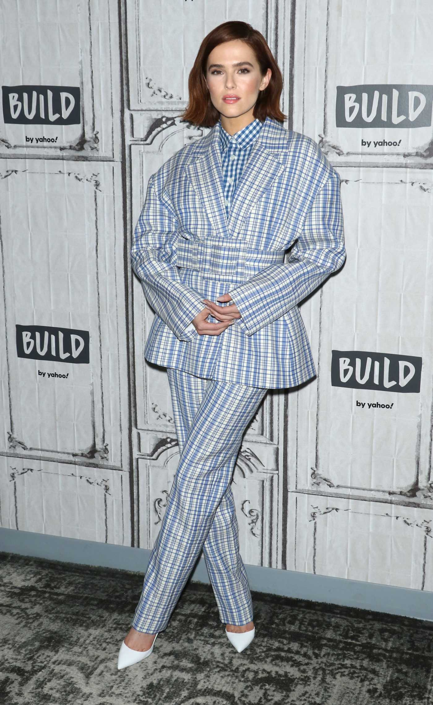 Zoey Deutch Attends the Build Series at Build Studio in New York 02/12/2020