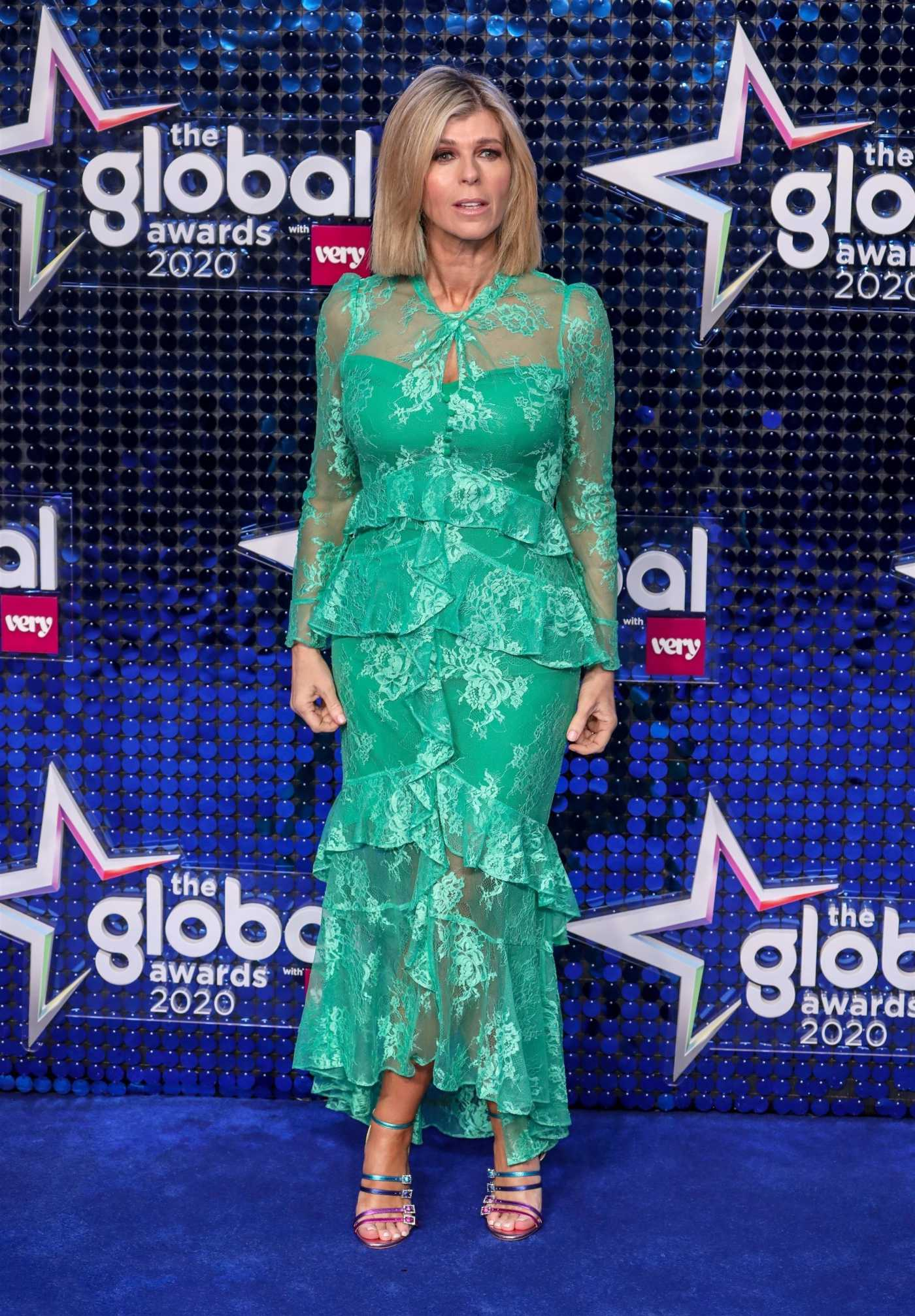 Kate Garraway Attends 2020 Global Awards in London 03/05/2020