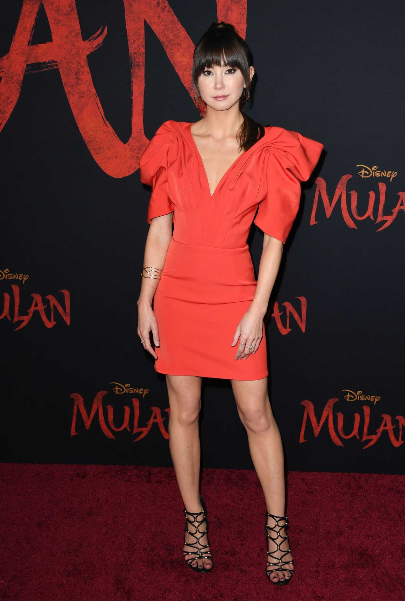 Kimiko Glenn Attends the Mulan World Premiere in Hollywood 03/09/2020