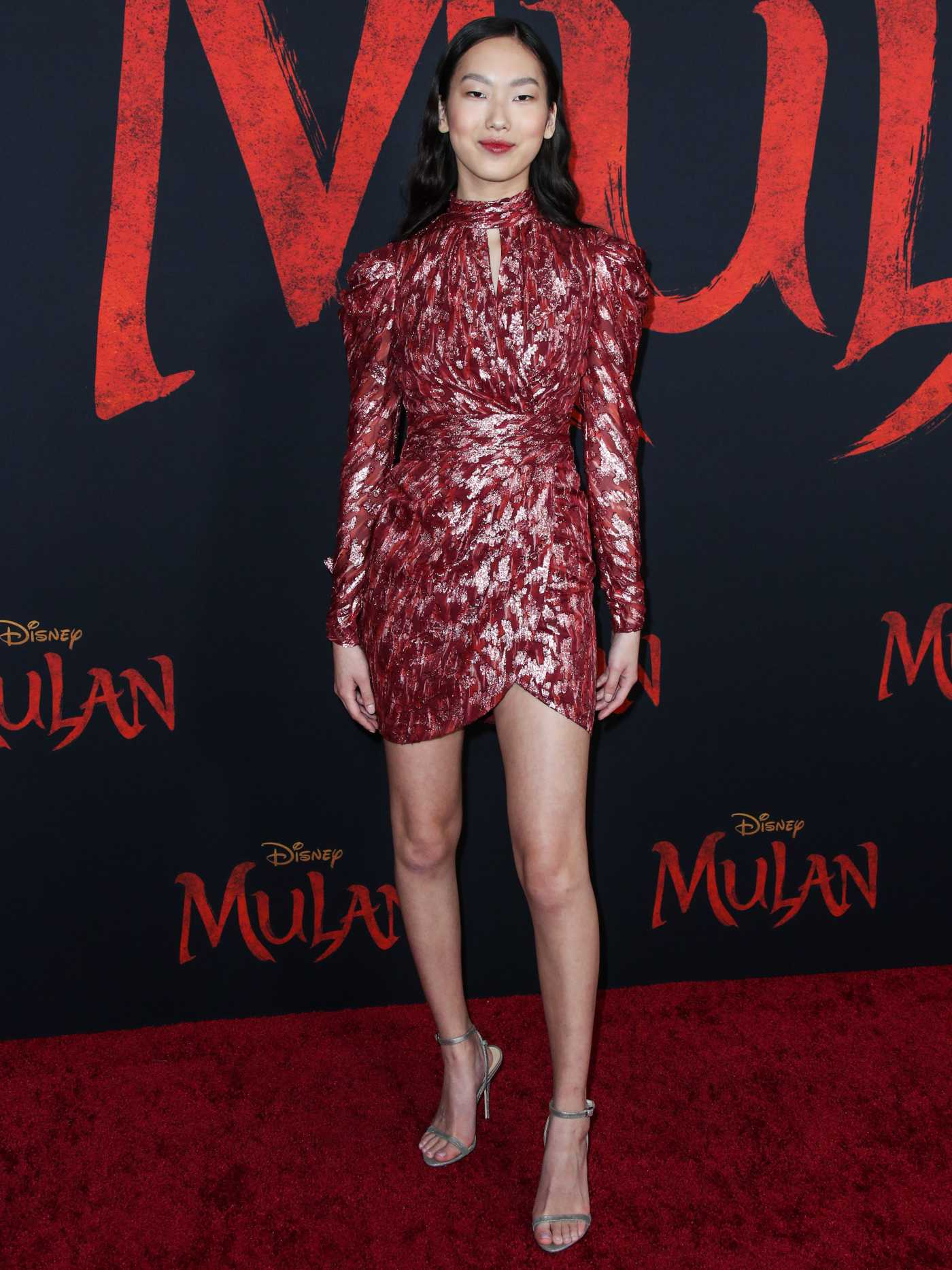Madison Hu Attends the Mulan World Premiere in Hollywood 03/09/2020