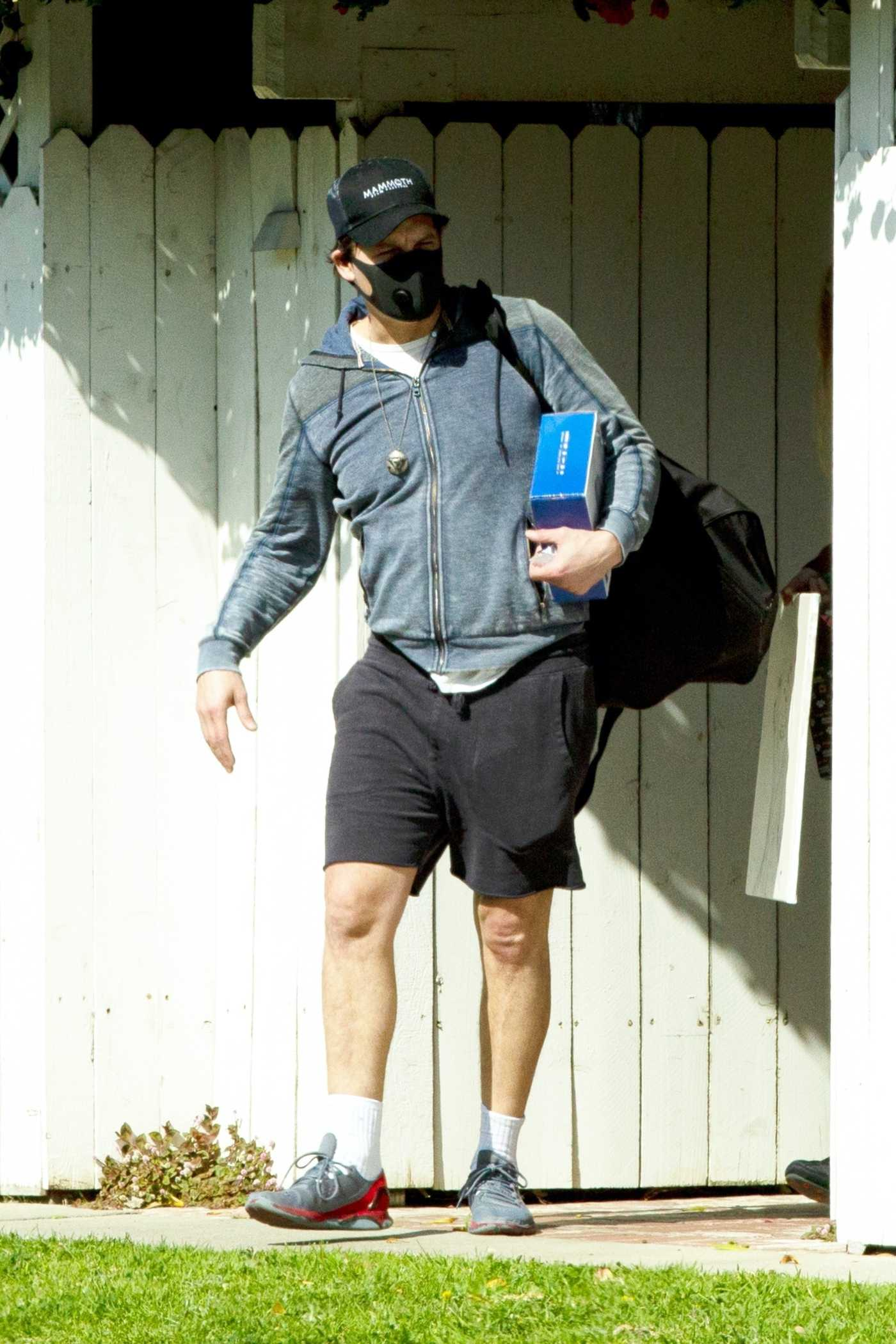 Peter Facinelli in a Black Face Mask Leaves His Home in Los Angeles 04/02/2020